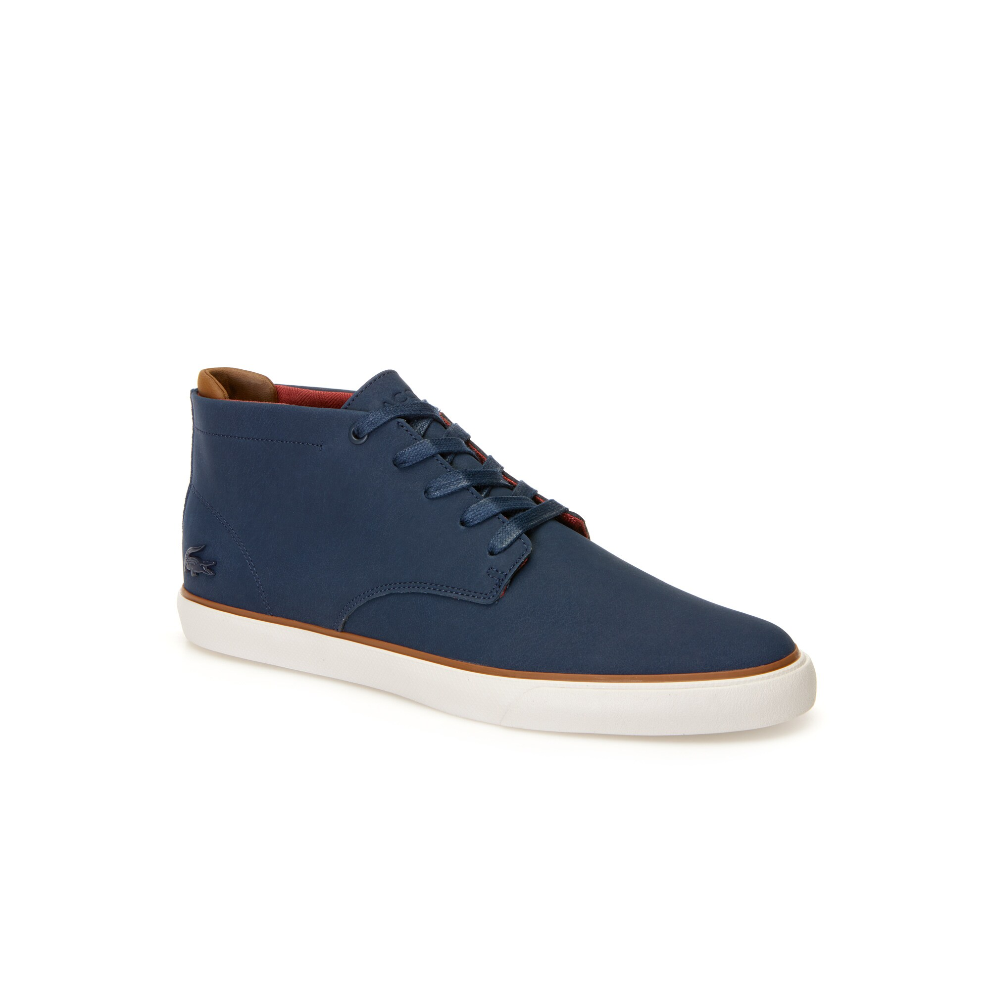 Men's Esparre Chukka Leather and Suede Trainers