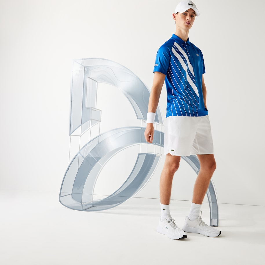 Men's Lacoste SPORT x Novak Djokovic Stretch Taffeta Shorts