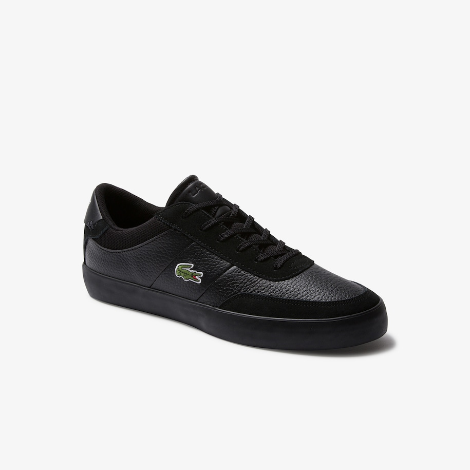 Men's Court-Master Tumbled Leather and Synthetic Trainers