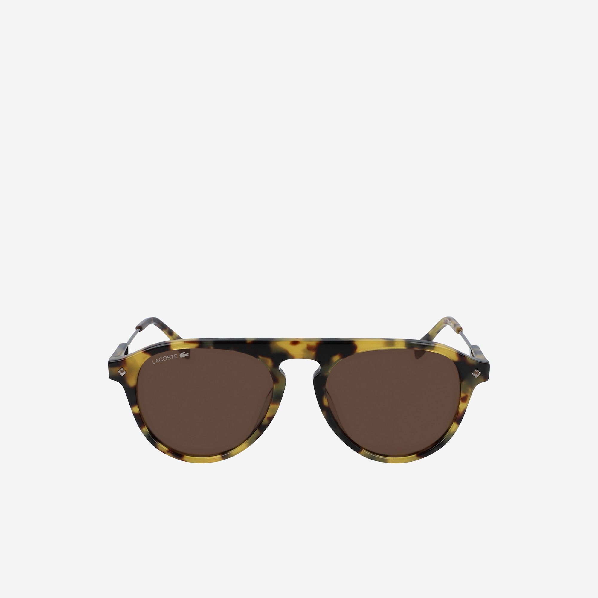 Oval Acetate One Top Bridge Sunglasses