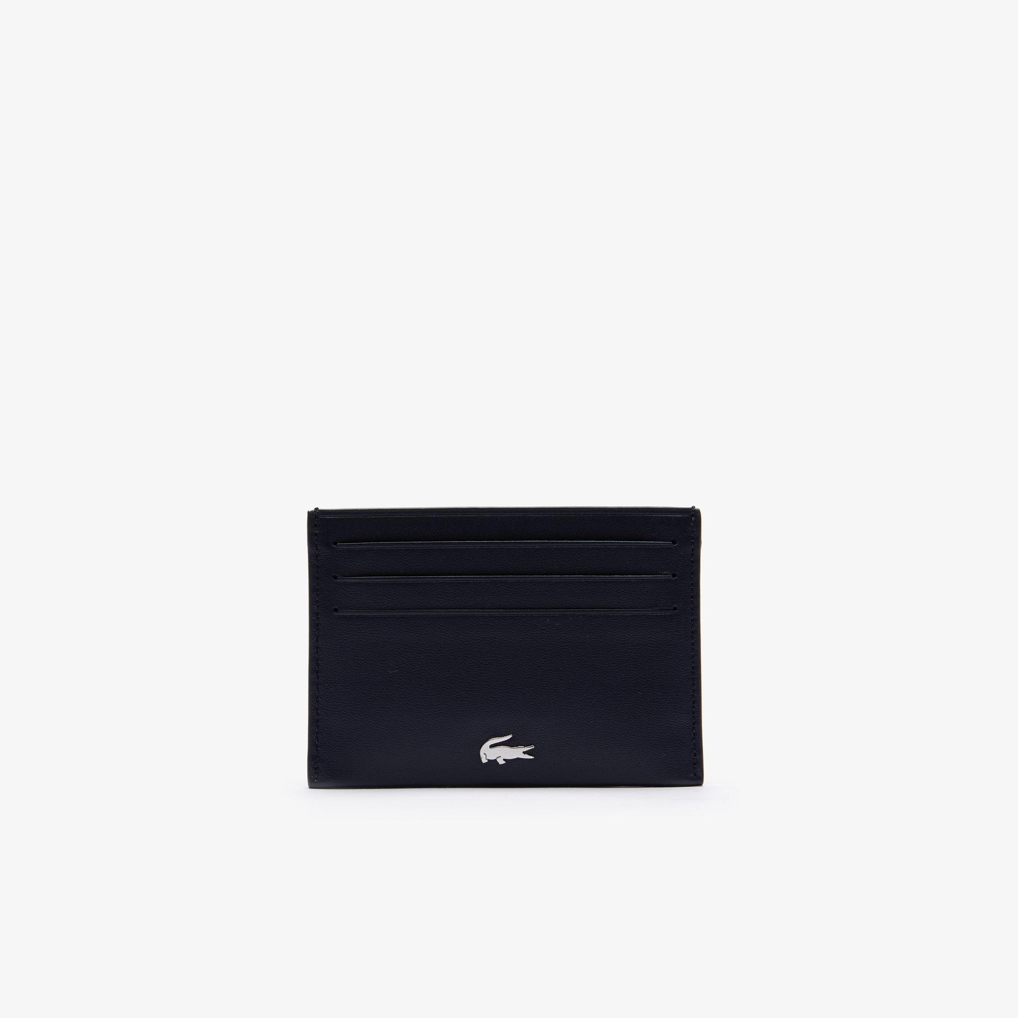 Men's FG credit card holder in leather