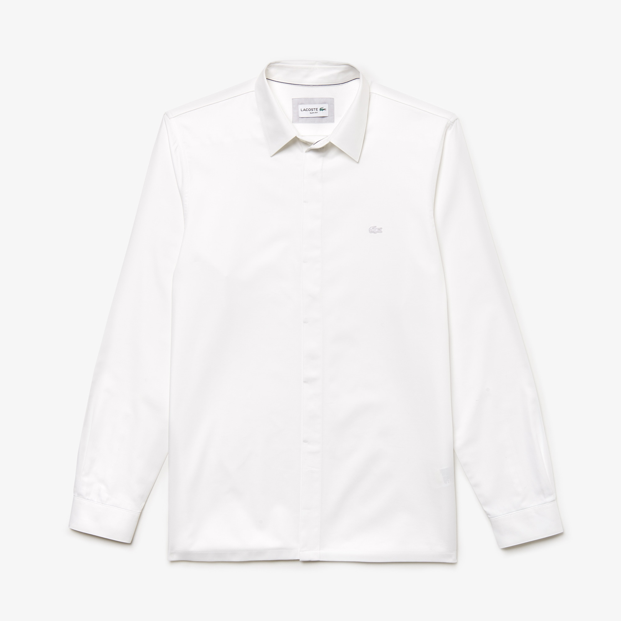 Men's Lacoste Motion Slim Fit Cotton Mini Piqué Shirt