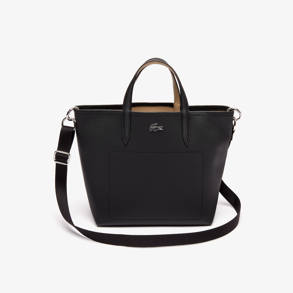 Women s Mini Anna Reversible Coated Piqué Canvas Tote Bag  ffc2991345