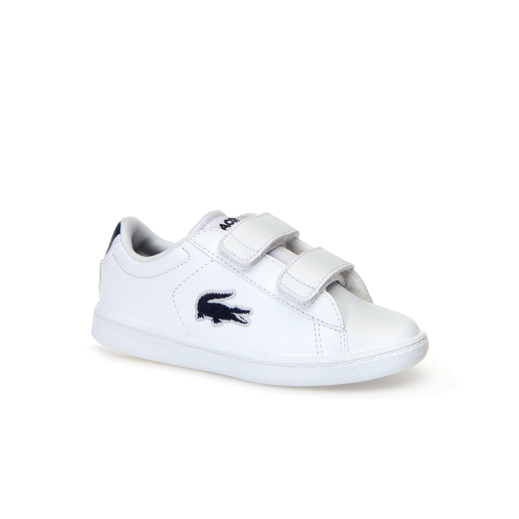 Sneakers Carnaby Evo bébés blanches en synthétique et textile