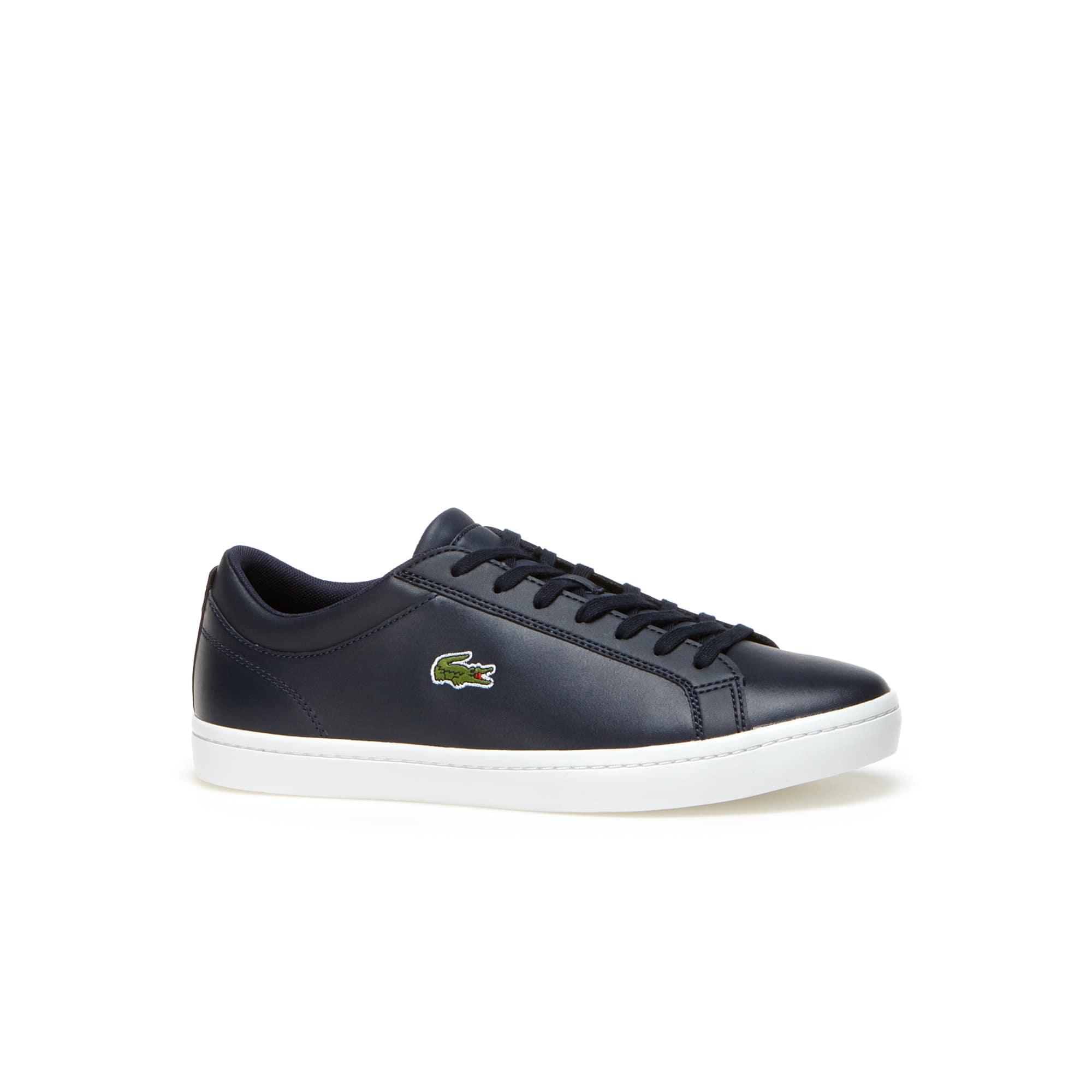 Sneakers Straightset en cuir premium