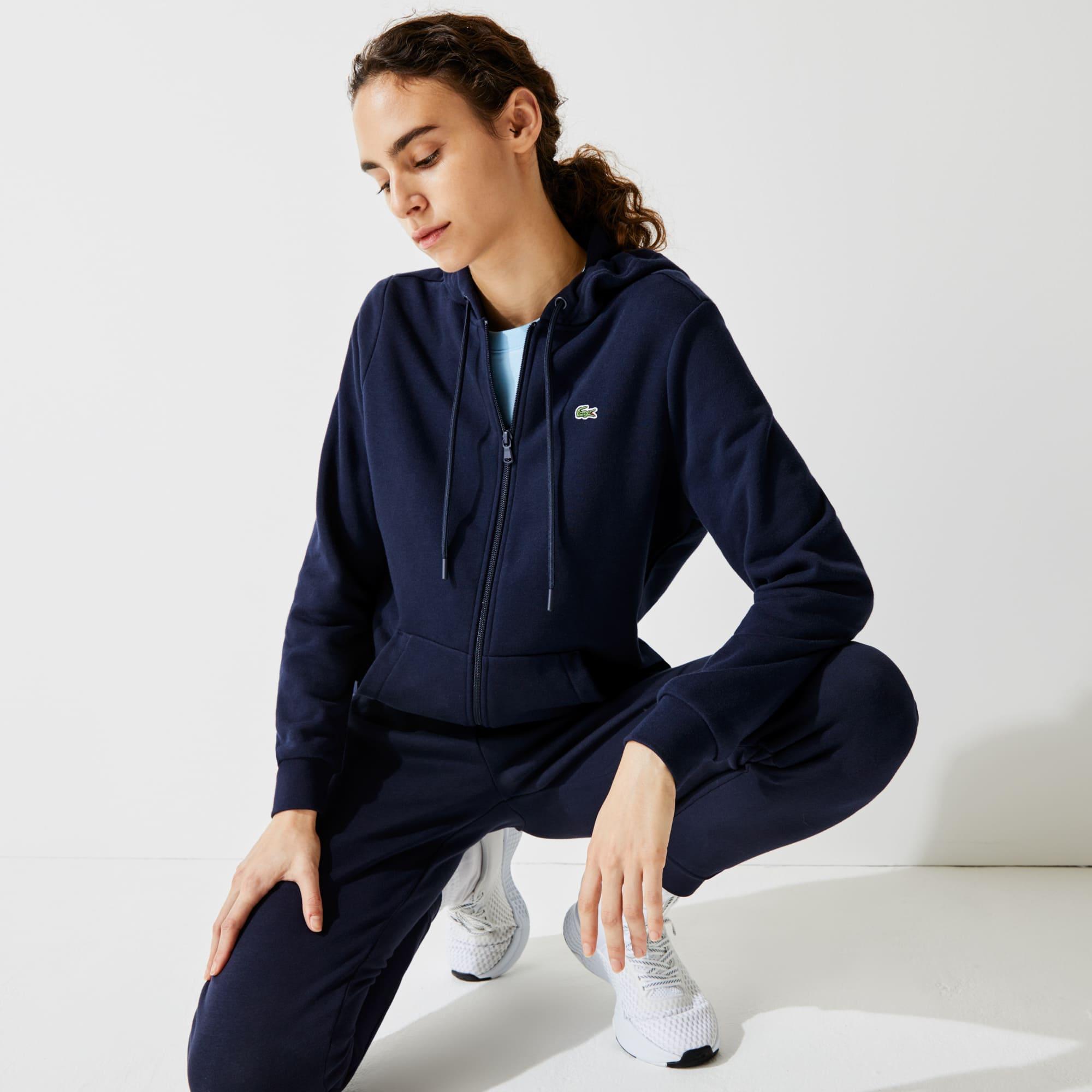 bonne réputation aspect esthétique sans précédent Sweatshirt zippé à capuche Tennis Lacoste SPORT en molleton