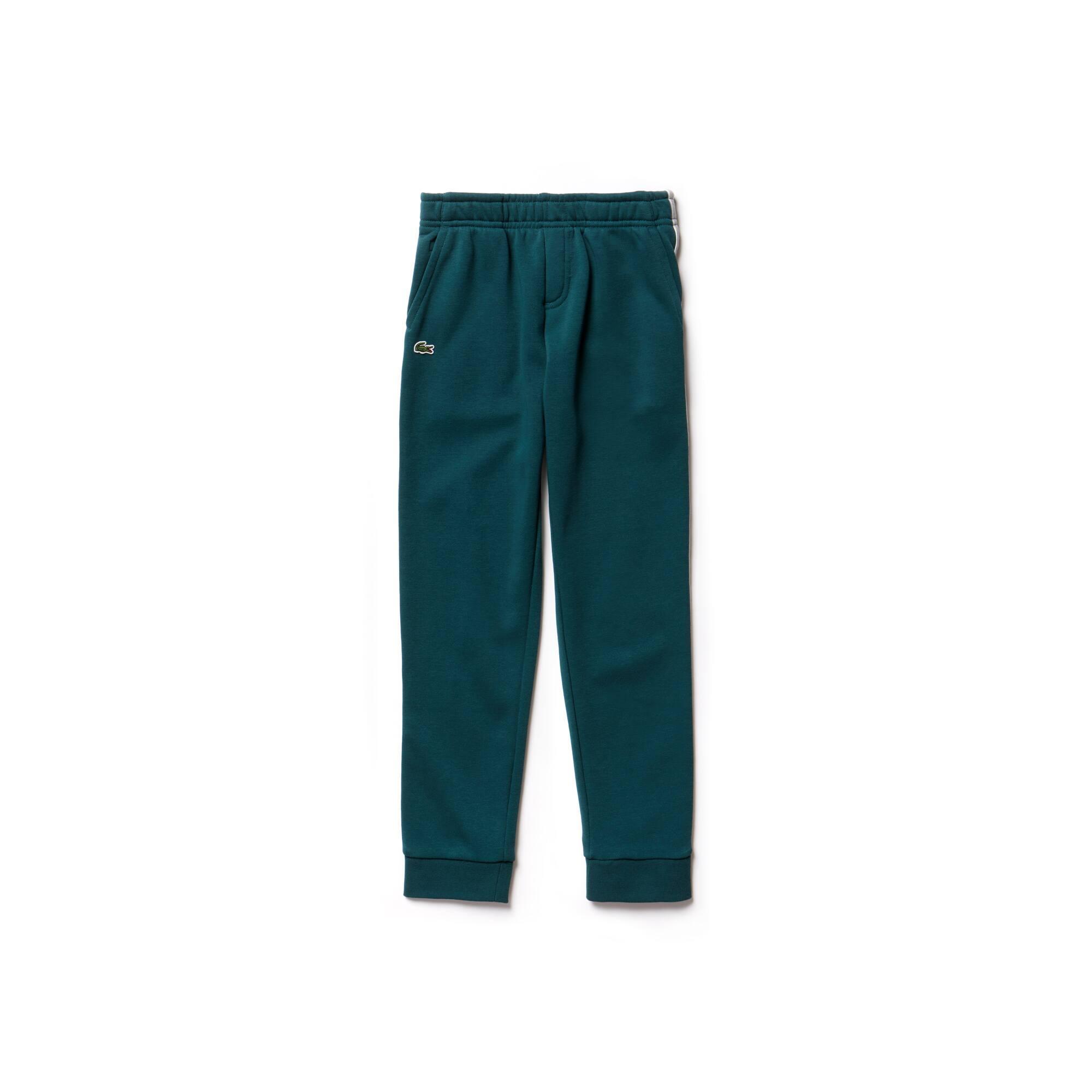 Pantalon de survêtement Garçon en molleton à bandes latérales
