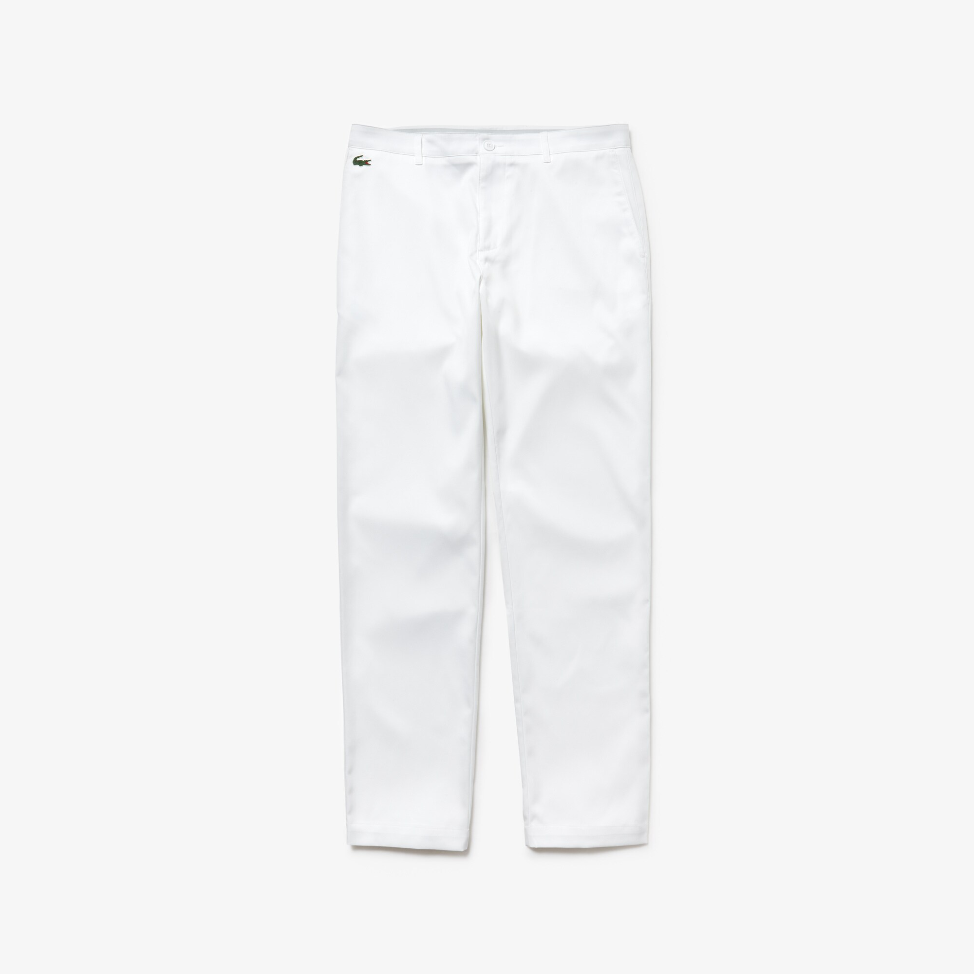 Pantalon chino Golf Lacoste SPORT en gabardine technique unie