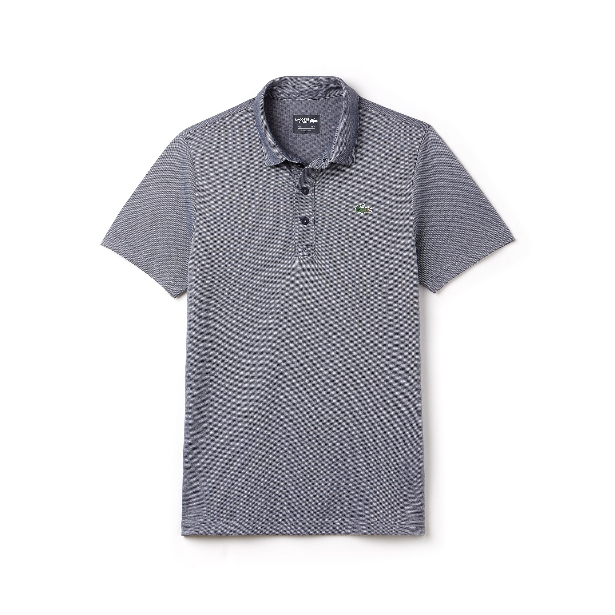 Polo Golf Lacoste SPORT regular fit en jersey technique bicolore