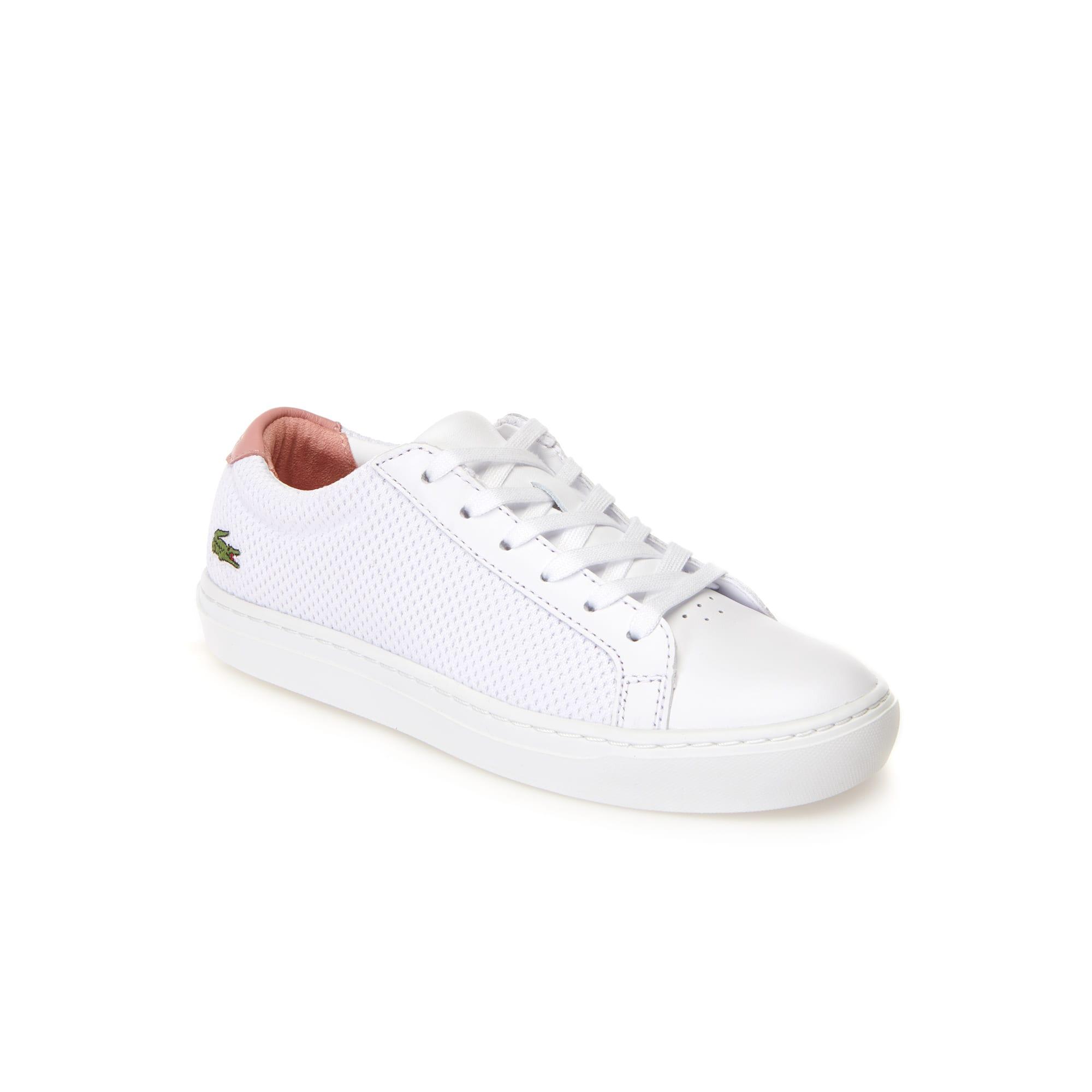 Sneakers L.12.12 Light-WT femme en textile et cuir