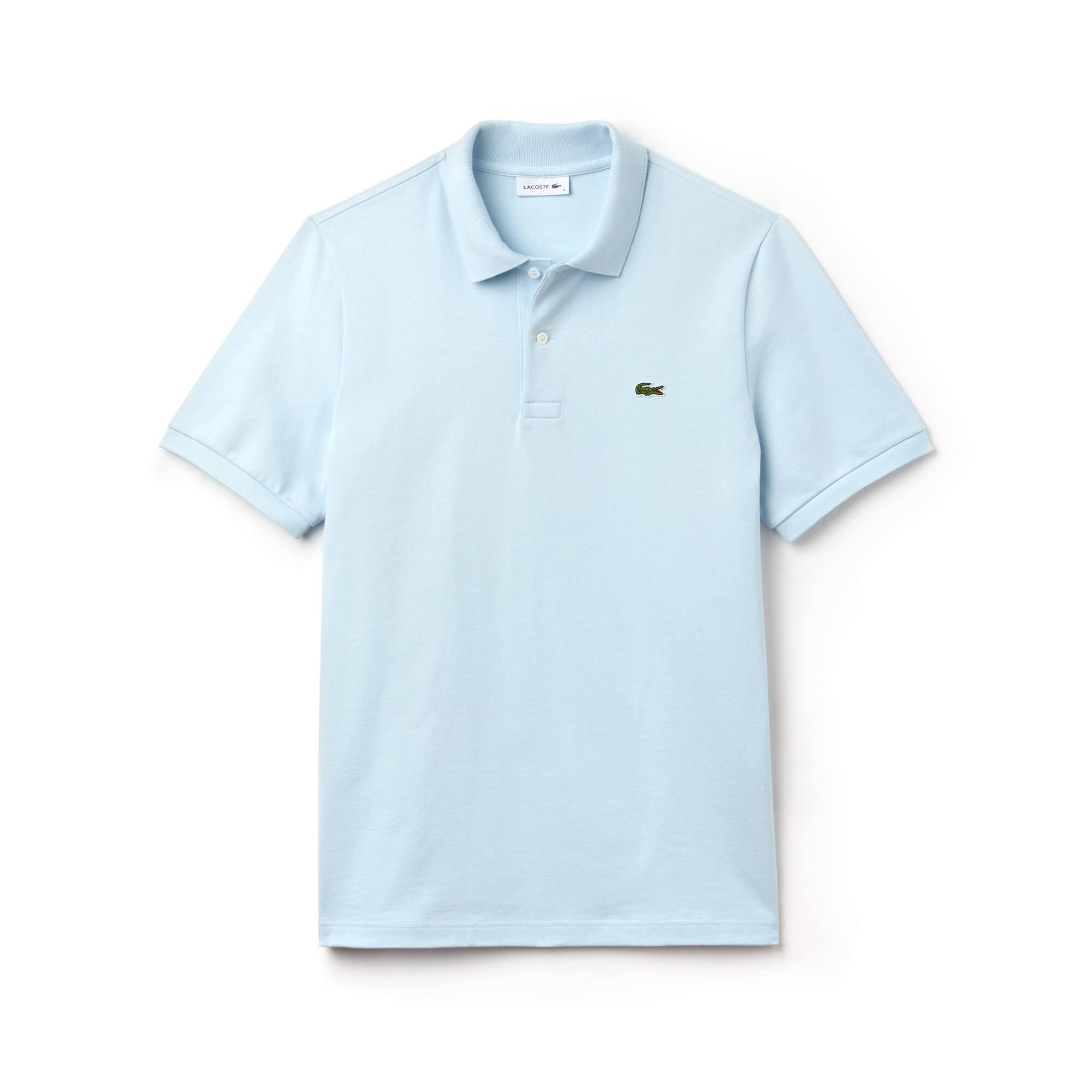 Polo Lacoste en jersey de coton lourd uni Édition Défilé