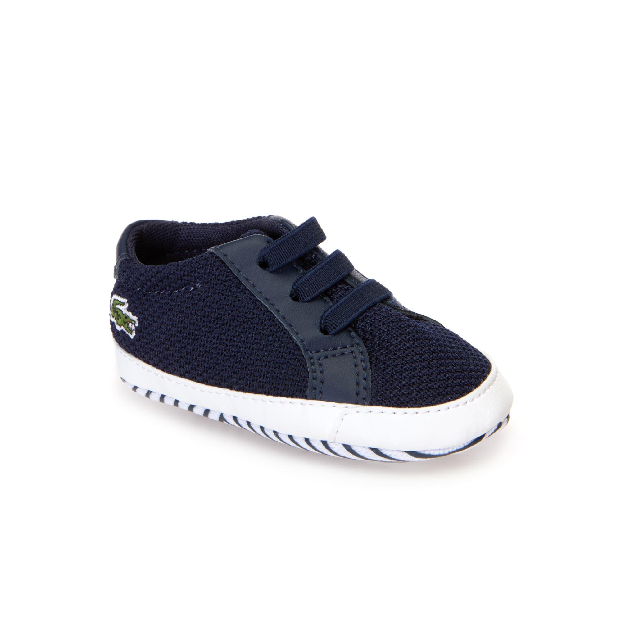 Sneakers L.12.12 Crib bébé en textile