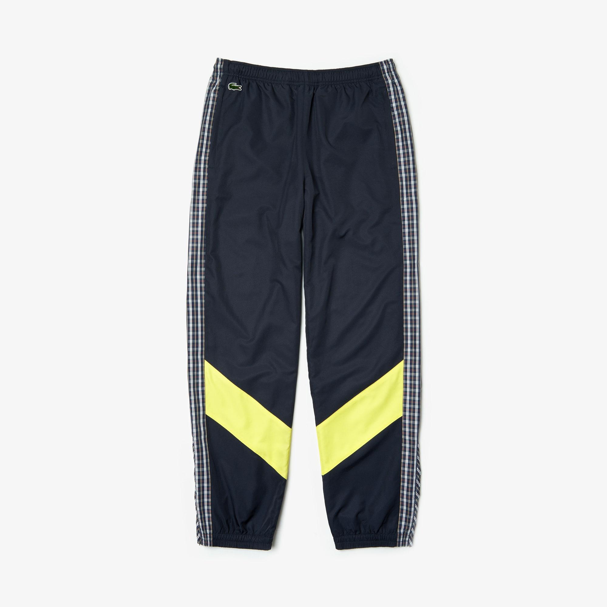 Pantalon de survêtement Lacoste LIVE en patchwork