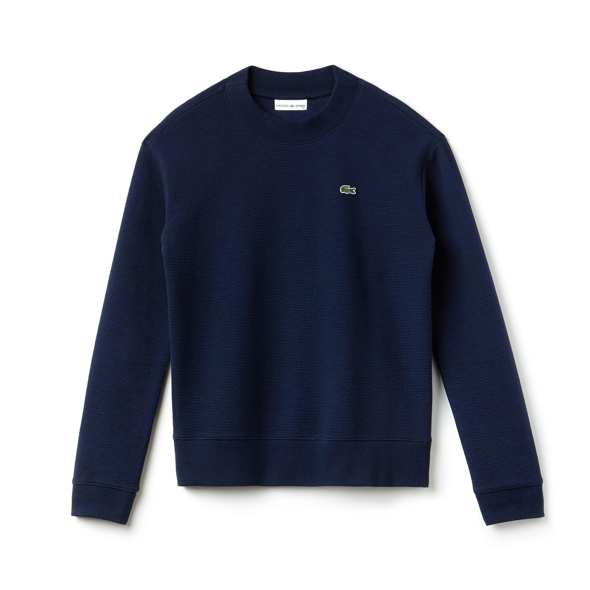 Sweatshirt Tennis Lacoste SPORT en molleton gaufré uni
