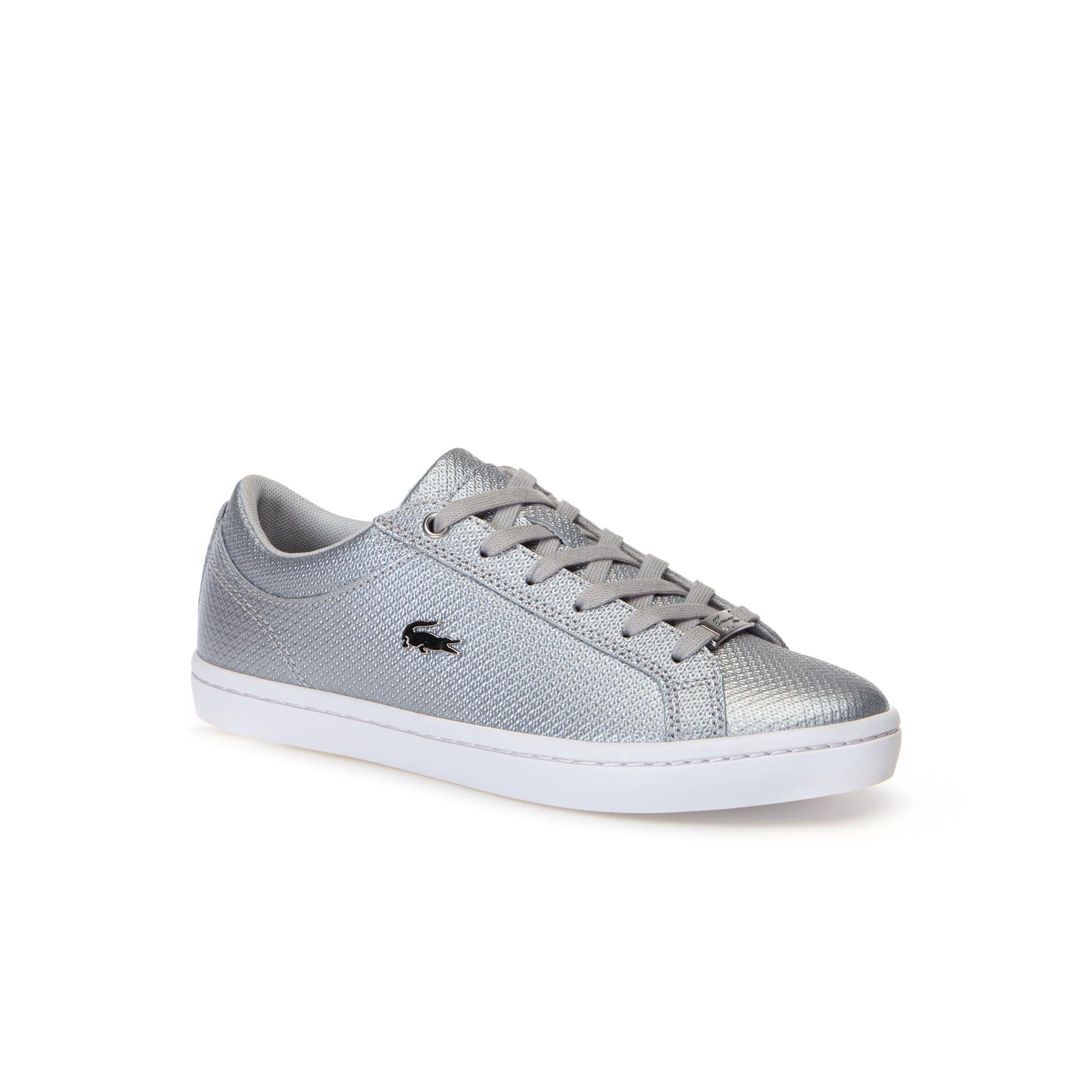 9f90942516 Sneakers Straightset Chantaco femme en cuir | LACOSTE
