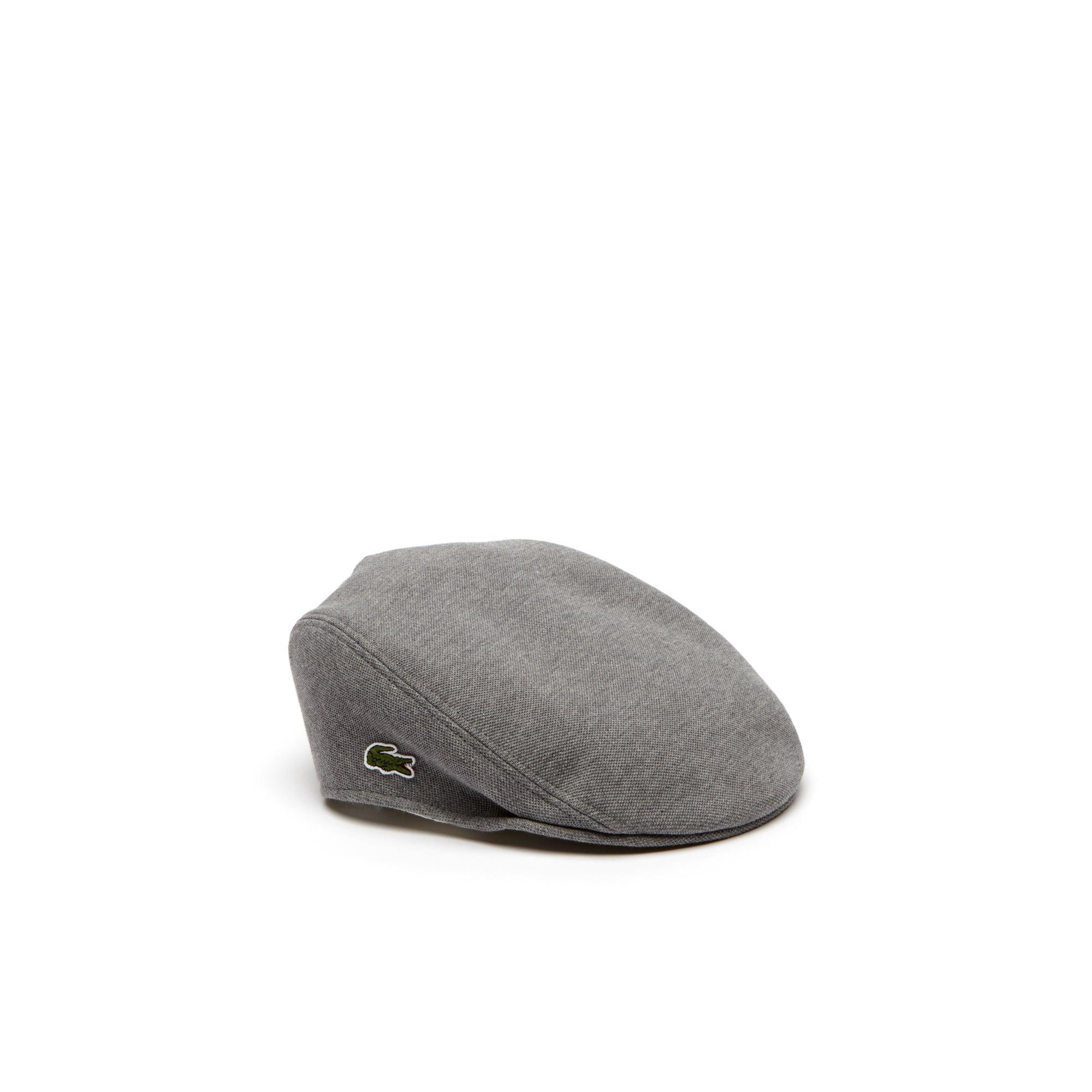 Casquette plate en coton