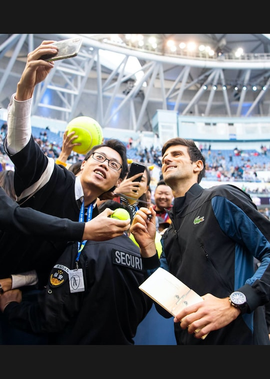 Novak Djokovic Lacoste