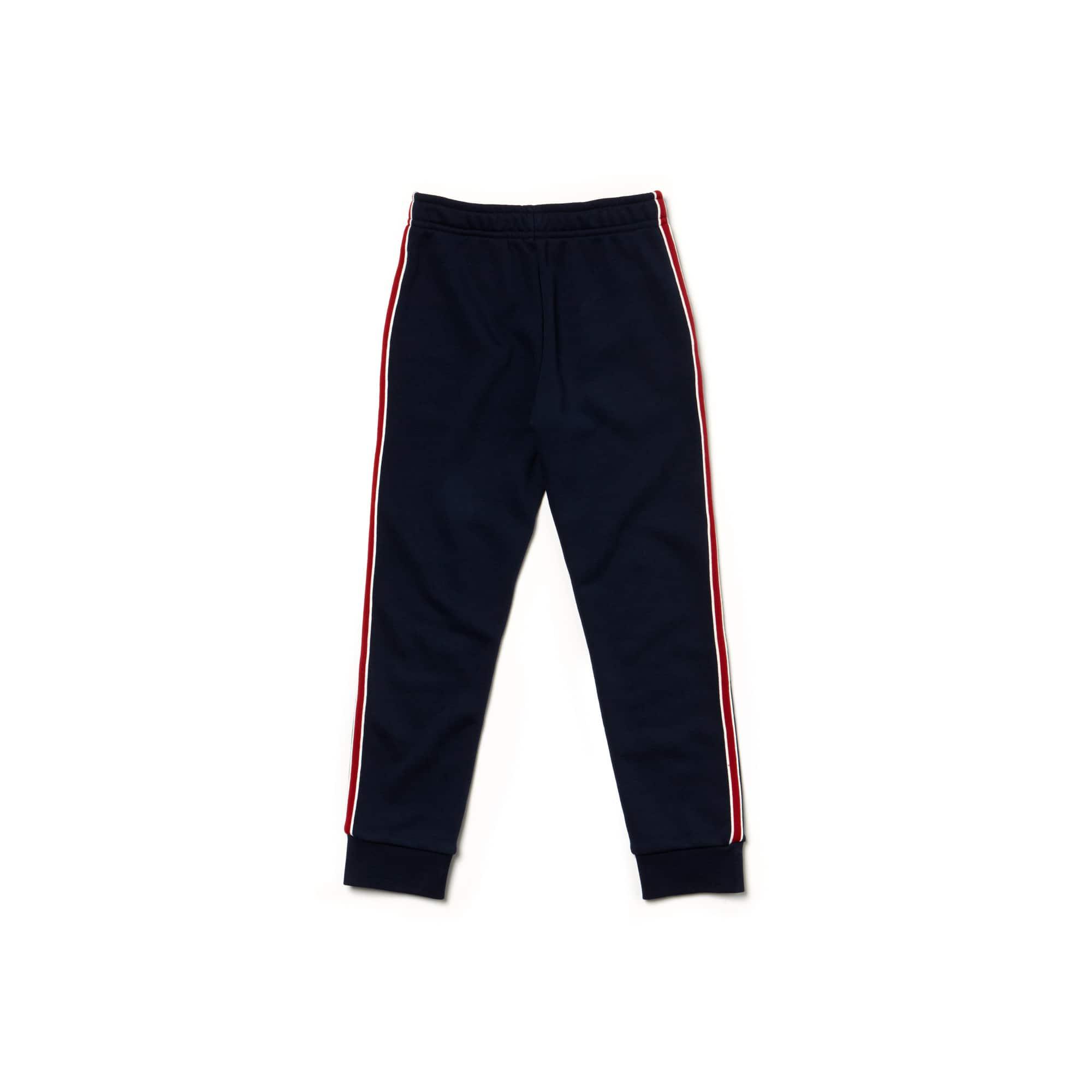Lacoste - Jungen-Jogginghose mit seitlichen Streifen aus Fleece - 3