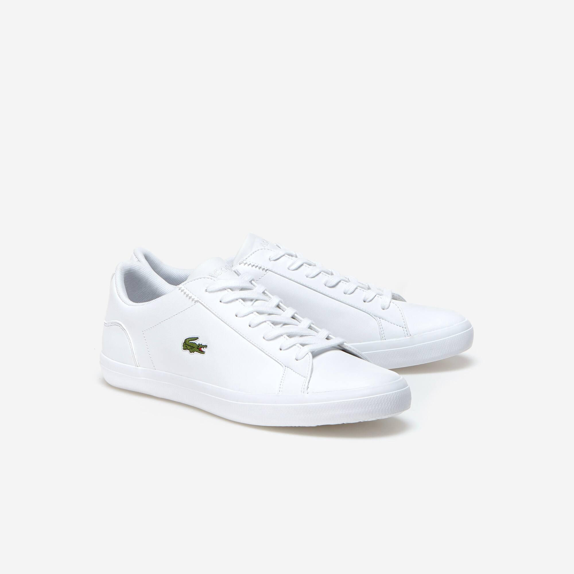 Lacoste - Herren-Sneakers LEROND aus einfarbigem Leder - 2