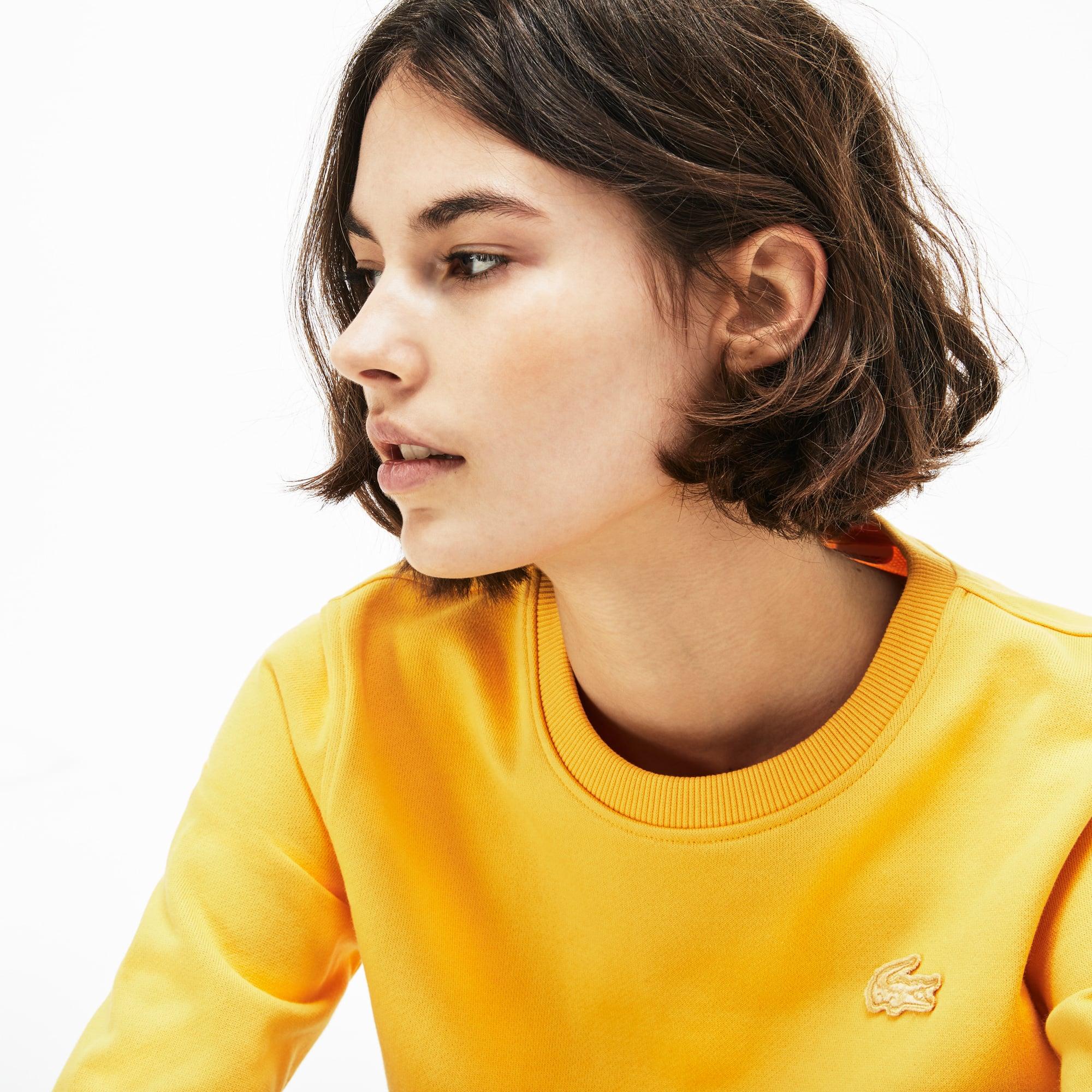 Lacoste - Damen-Sweatshirt mit Schlüssellochausschnitt LACOSTE L!VE - 2