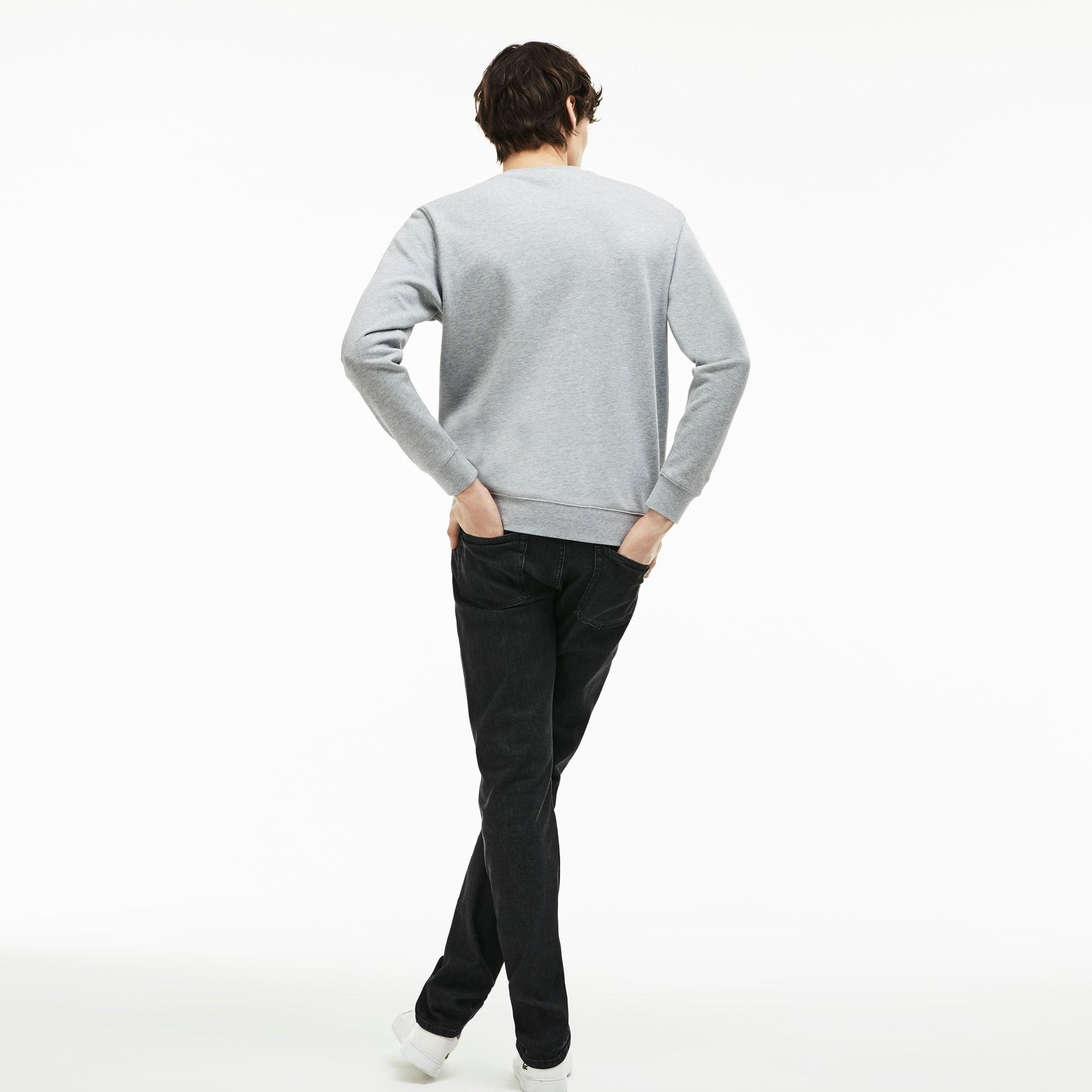 Lacoste - Slim Fit Herren-Jeans aus Stretch-Baumwolle mit fünf Taschen - 2