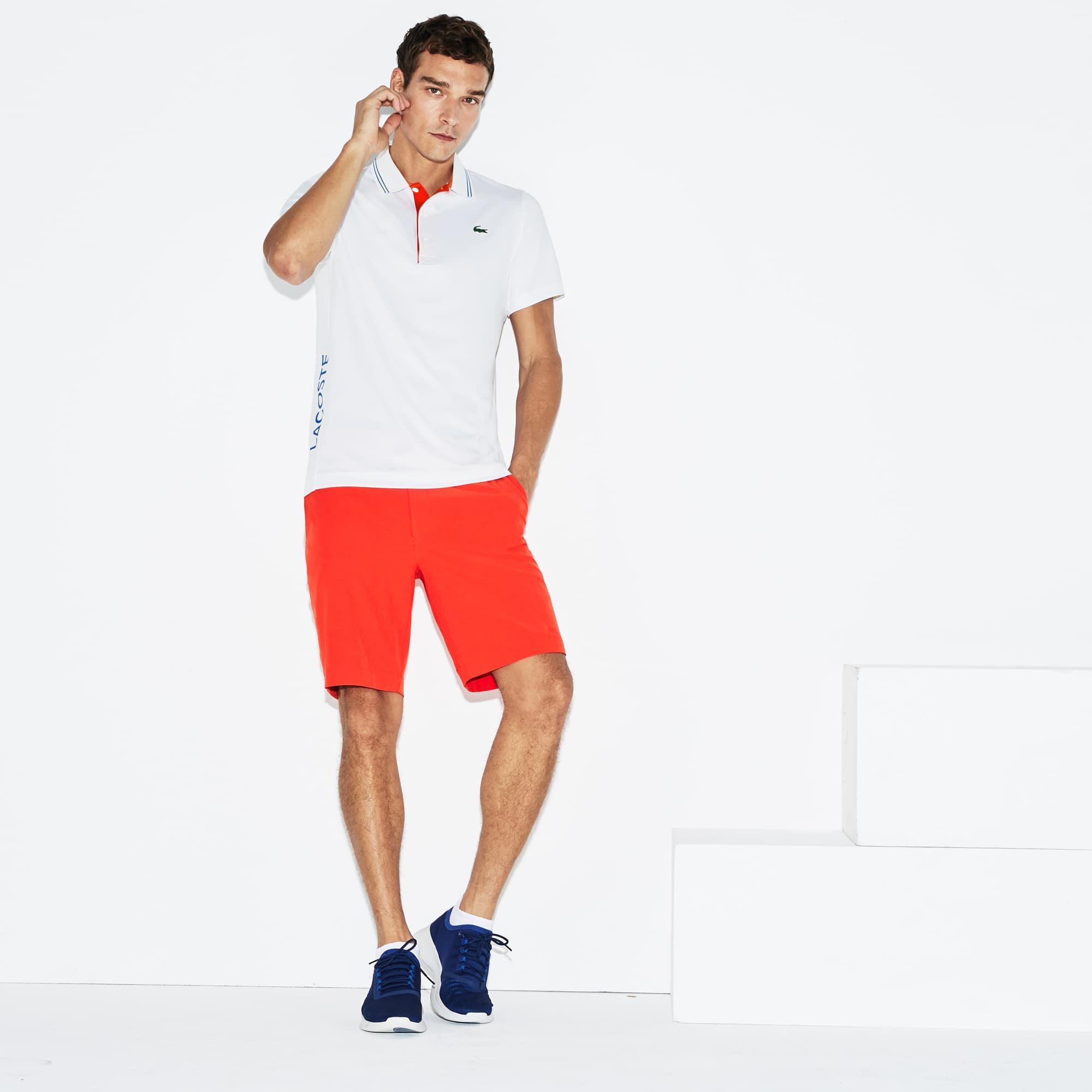 Lacoste - Herren LACOSTE SPORT Stretch Golf-Poloshirt mit Schriftzug - 5