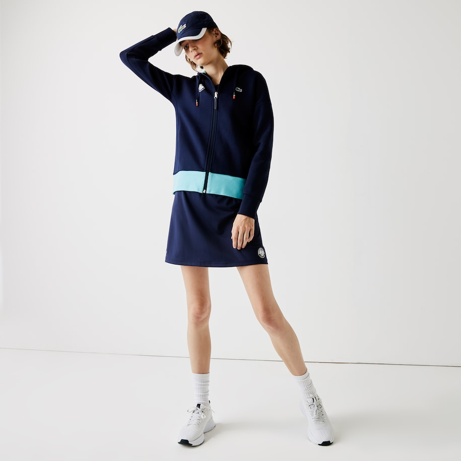 Damen-Minirock French Open LACOSTE SPORT