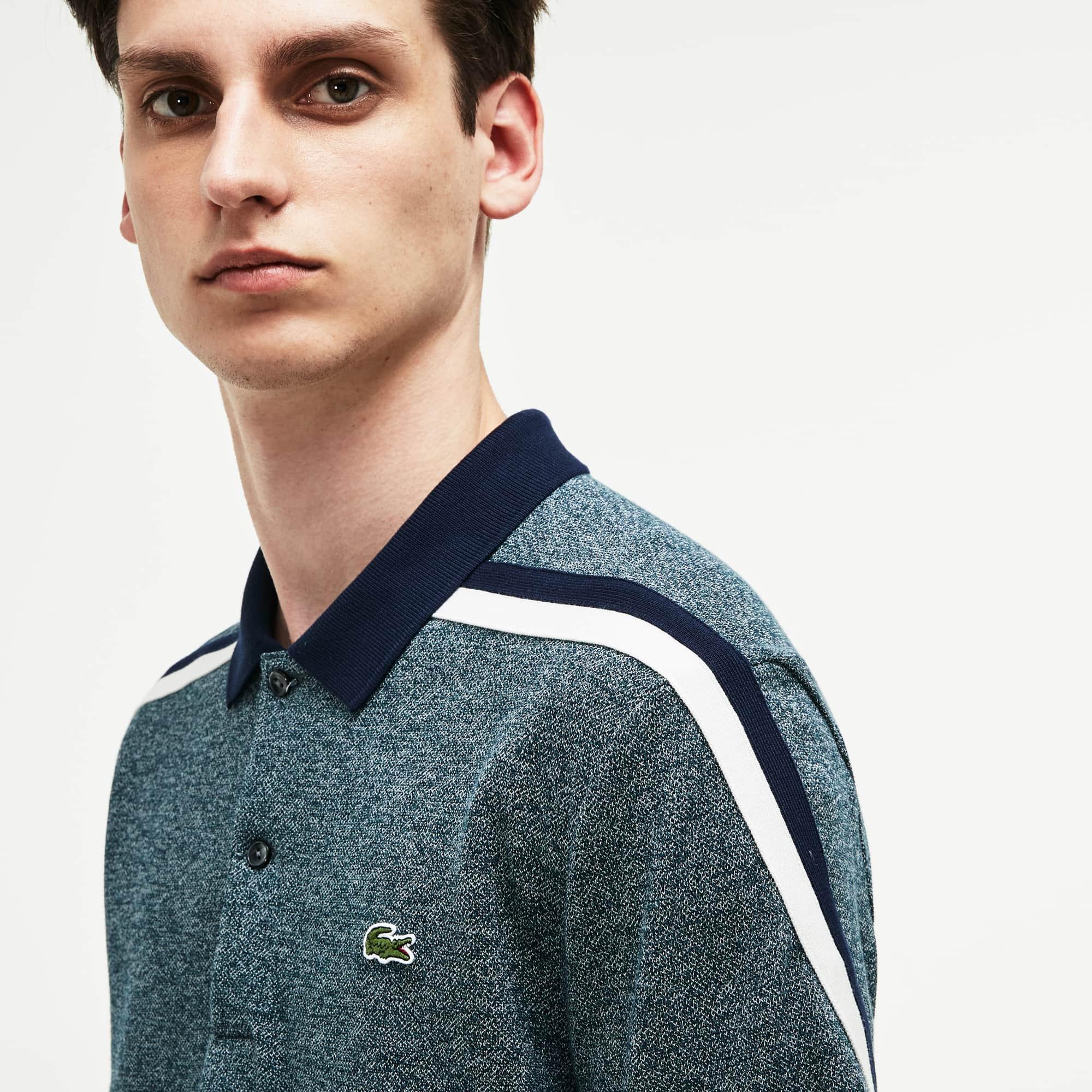 Lacoste - LACOSTE Made In France Regular Fit Herren-Poloshirt aus Baumwoll-Piqué - 1