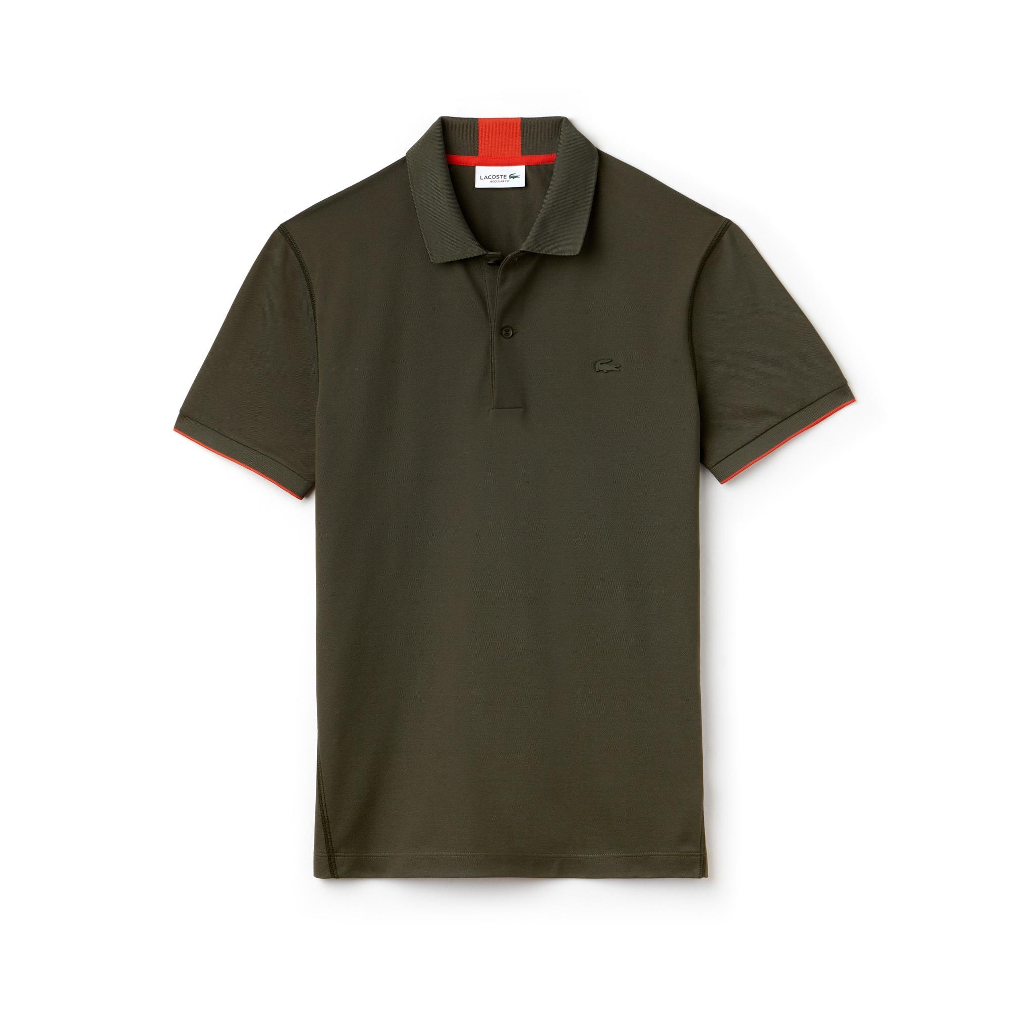 LACOSTE Regular Fit Herren-Poloshirt aus funktionellem Petit-Piqué