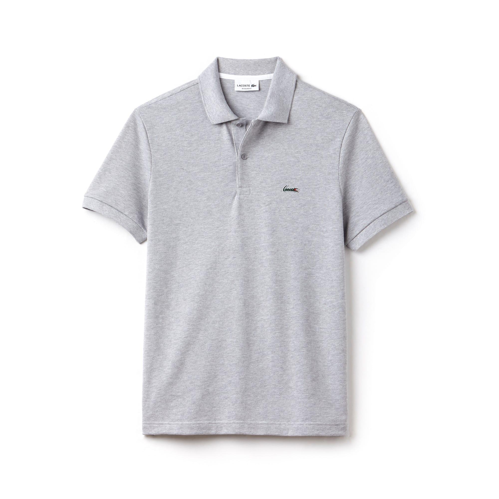 Regular Fit Herren-Polo aus dicker Baumwolle