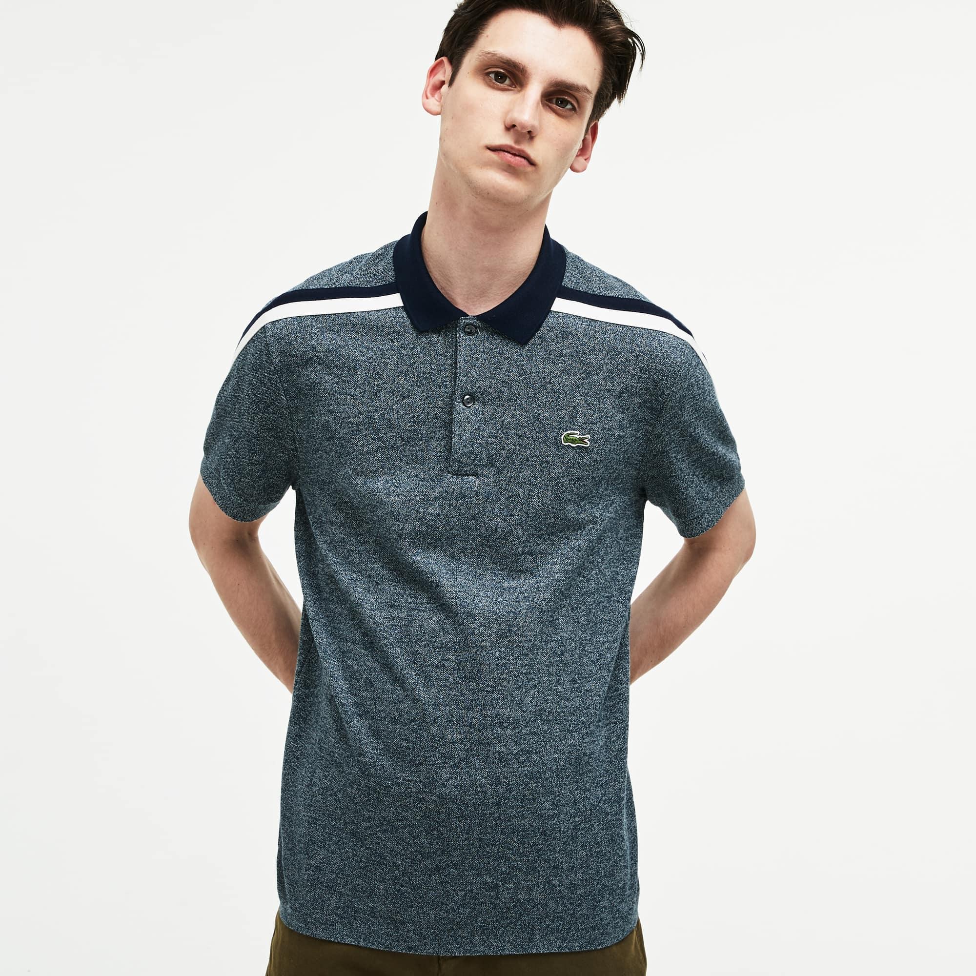 Lacoste - LACOSTE Made In France Regular Fit Herren-Poloshirt aus Baumwoll-Piqué - 5