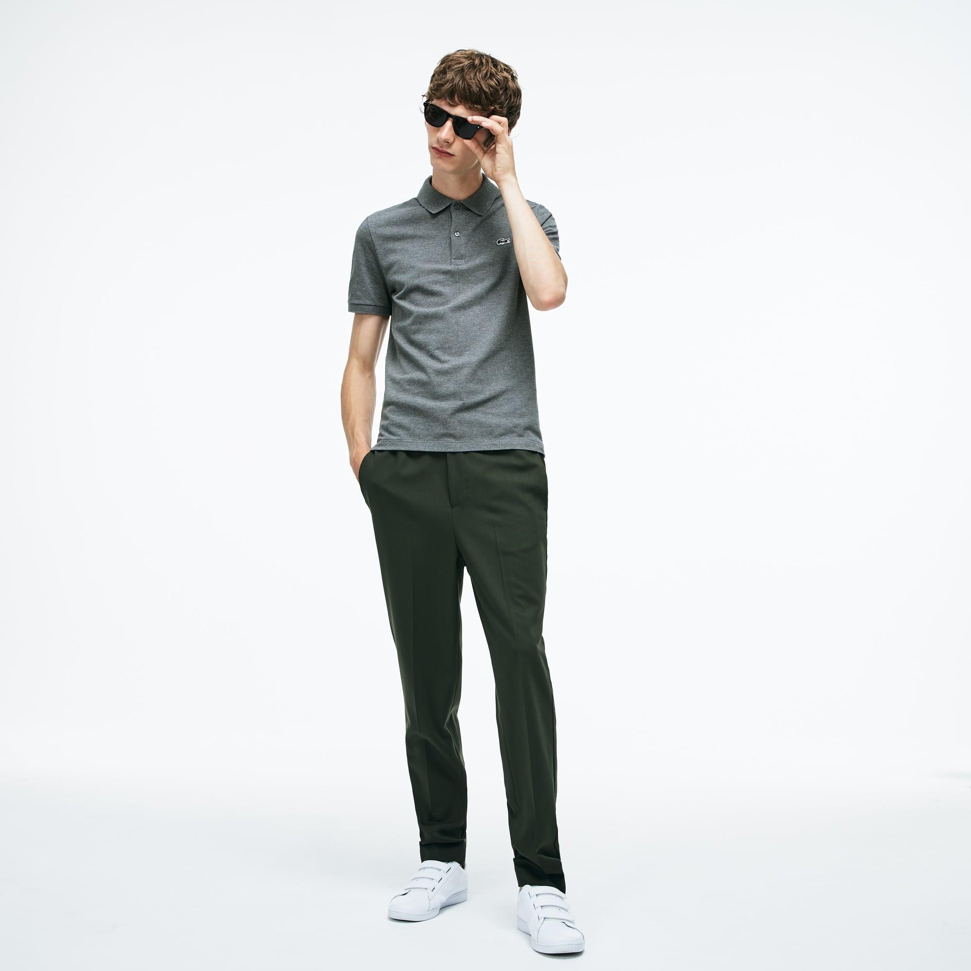 Herren LACOSTE Herren-Poloshirt aus Mini-Piqué mit Stretch