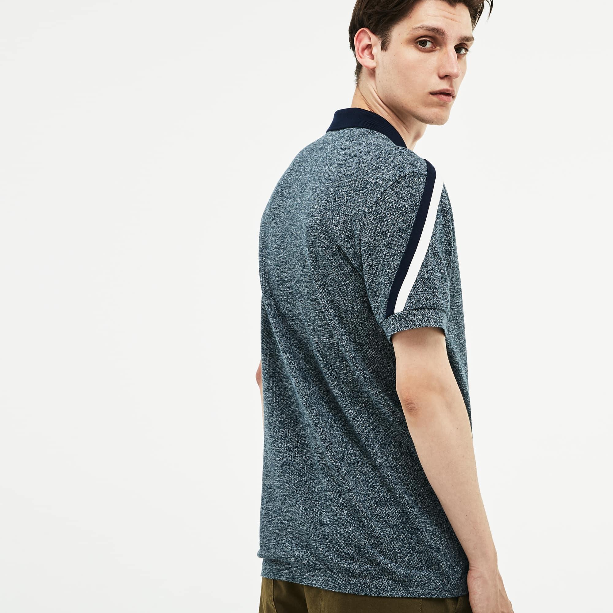 Lacoste - LACOSTE Made In France Regular Fit Herren-Poloshirt aus Baumwoll-Piqué - 2