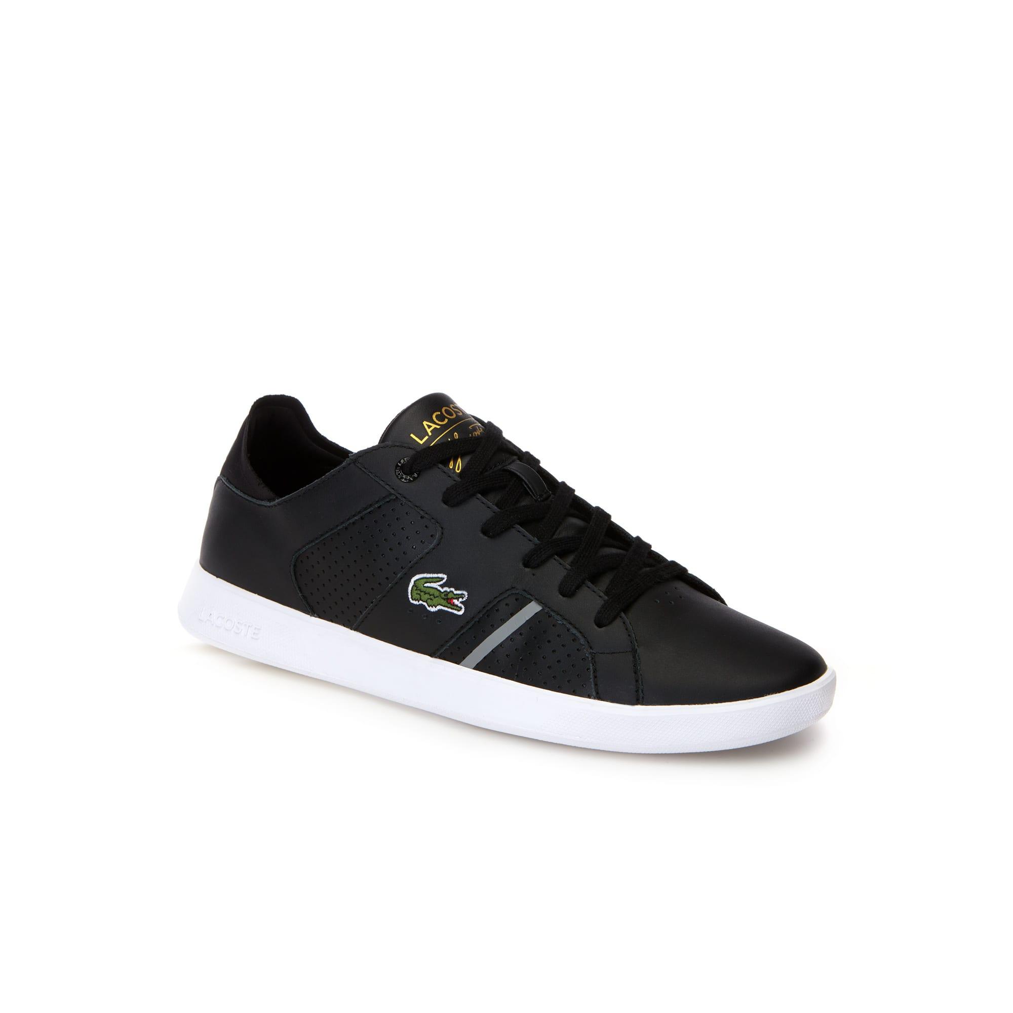 Herren-Sneakers NOVAS CT aus Leder und Textil