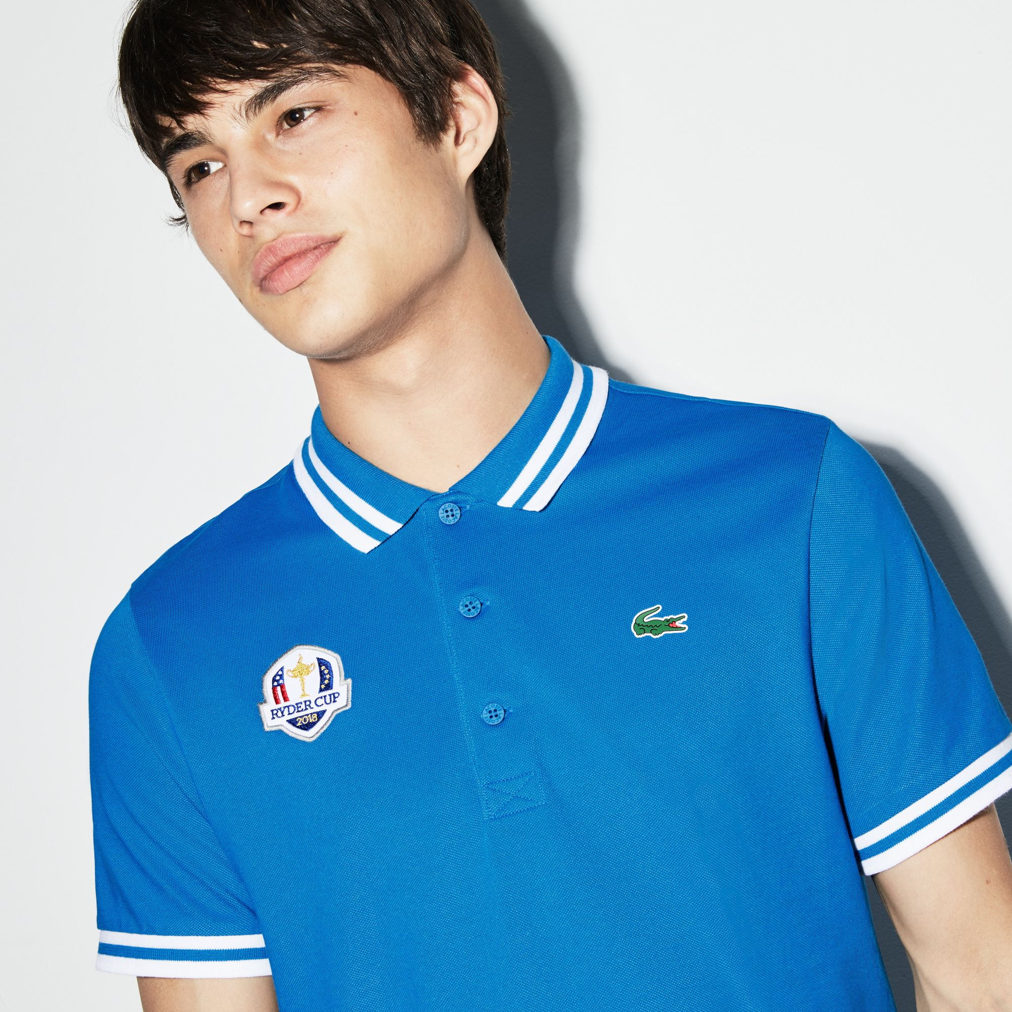 Lacoste - Herren LACOSTE SPORT Ryder Cup Edition Golf Poloshirt - 4