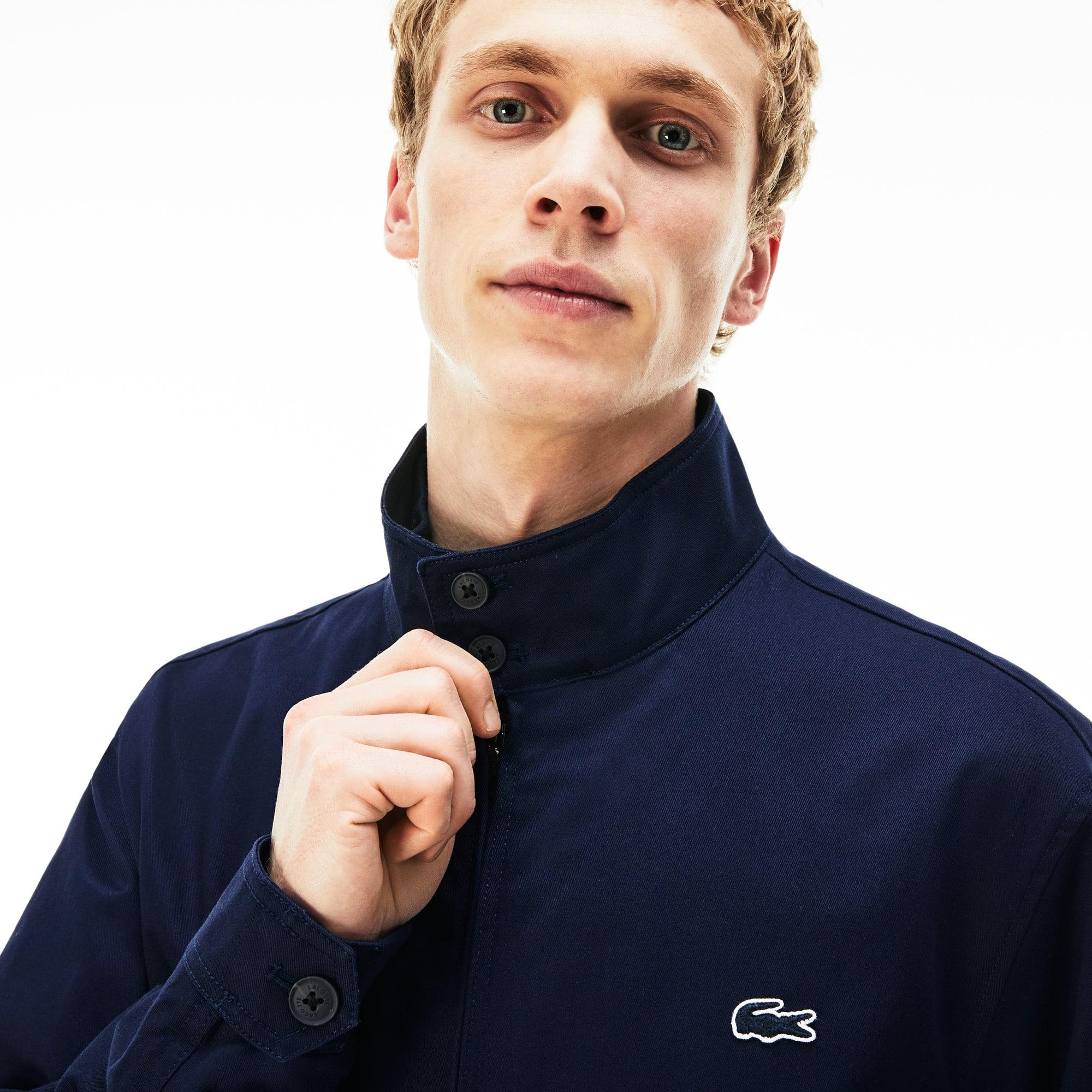 Artikel klicken und genauer betrachten! - Vom Sport inspiriert ist diese leichte Twill-Jacke mit vollständigem Mesh-Futter. Eine urbane Verbündete der Zwischensaison mit elastischem Bund. | im Online Shop kaufen