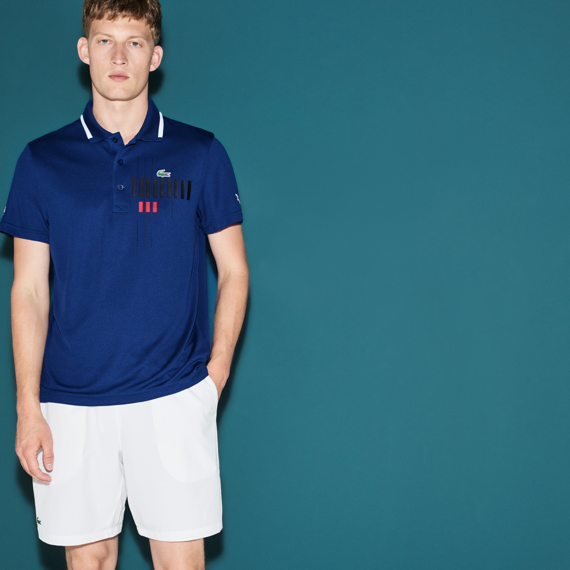 Lacoste polo Kollektion für Novak Djokovic - Exclusive Blue Edition