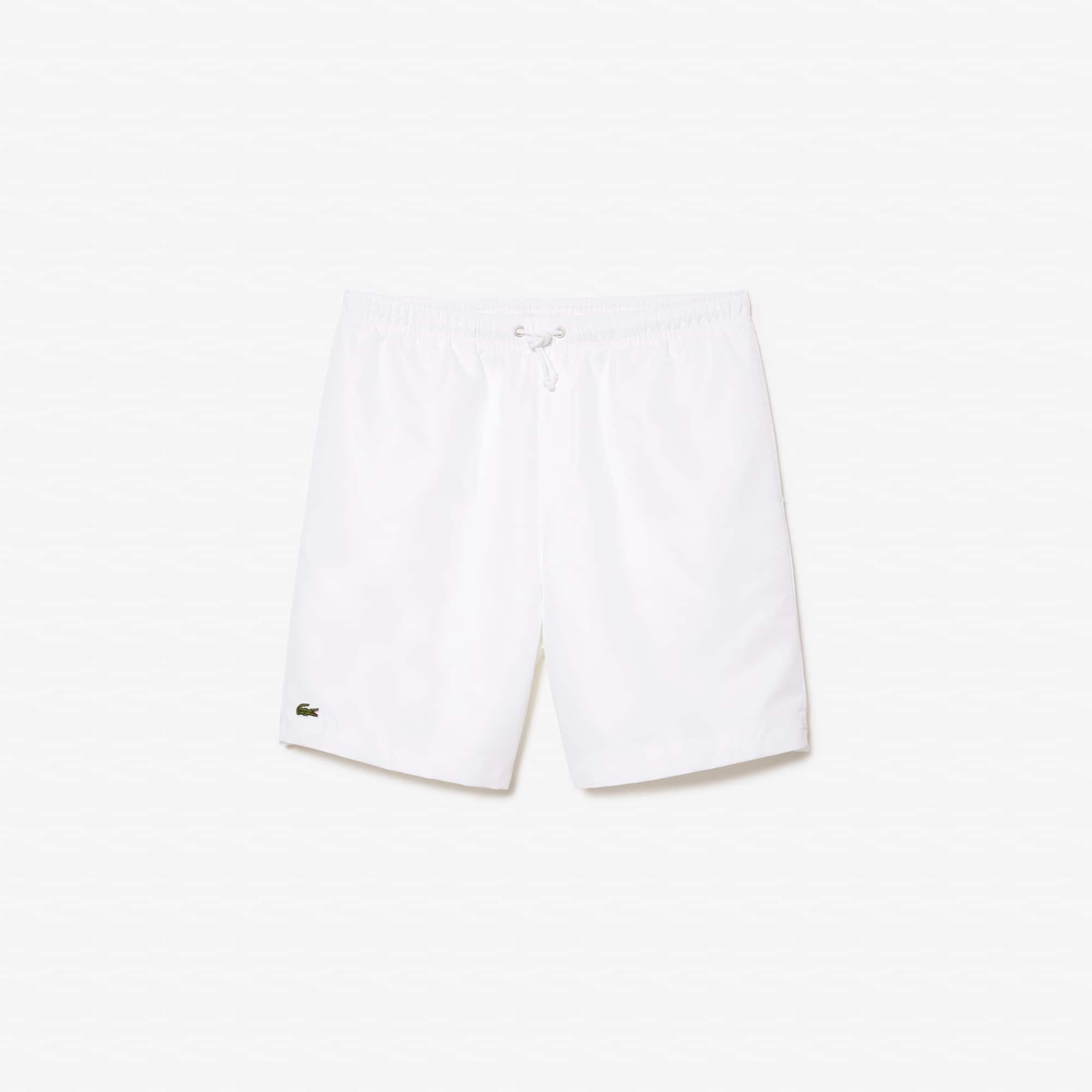 Tennis-Shorts aus rautenförmig gewebtem Taft LACOSTESPORT Tennis
