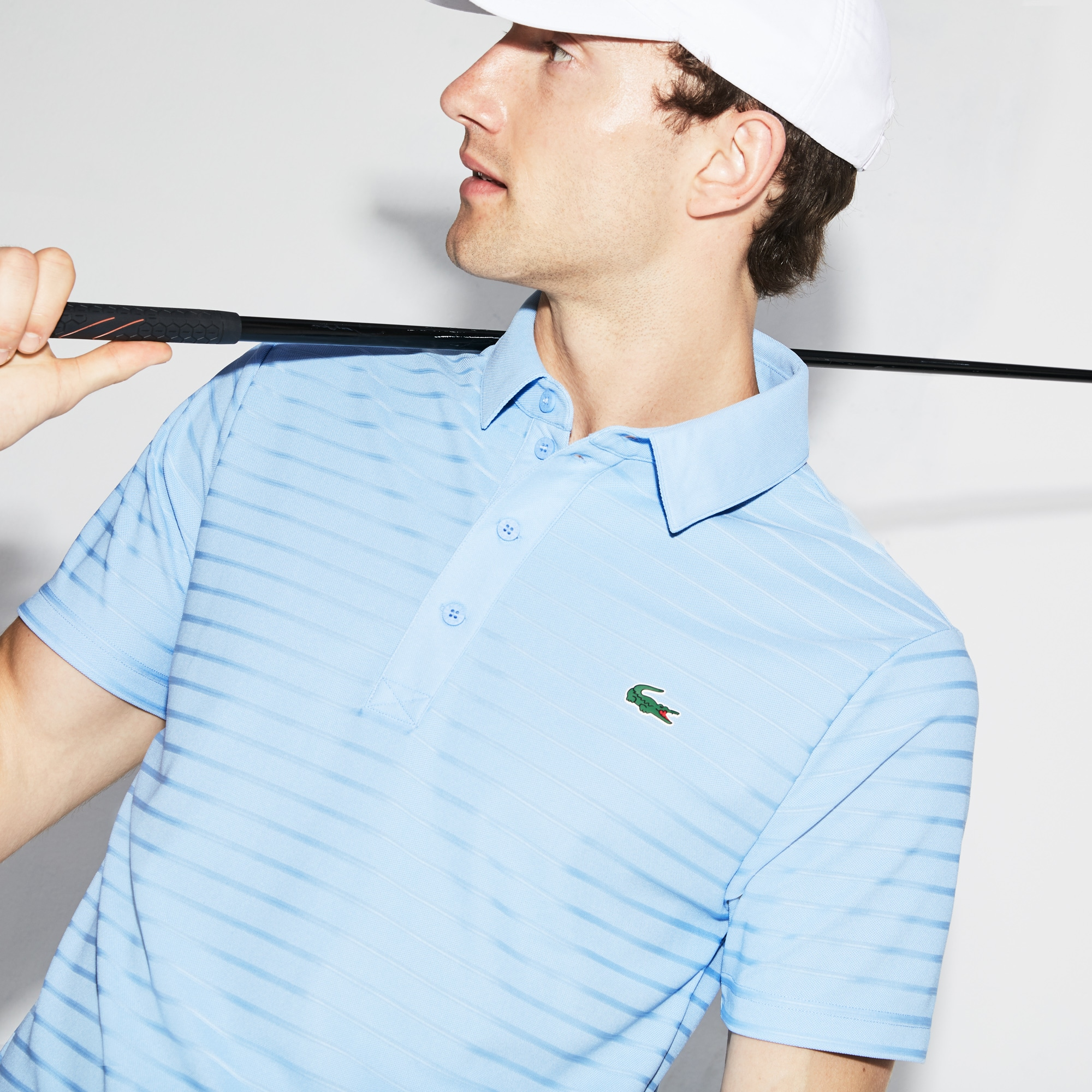 Lacoste - Herren-Funktions-Polo aus Jacquard-Jersey LACOSTE SPORT GOLF - 4