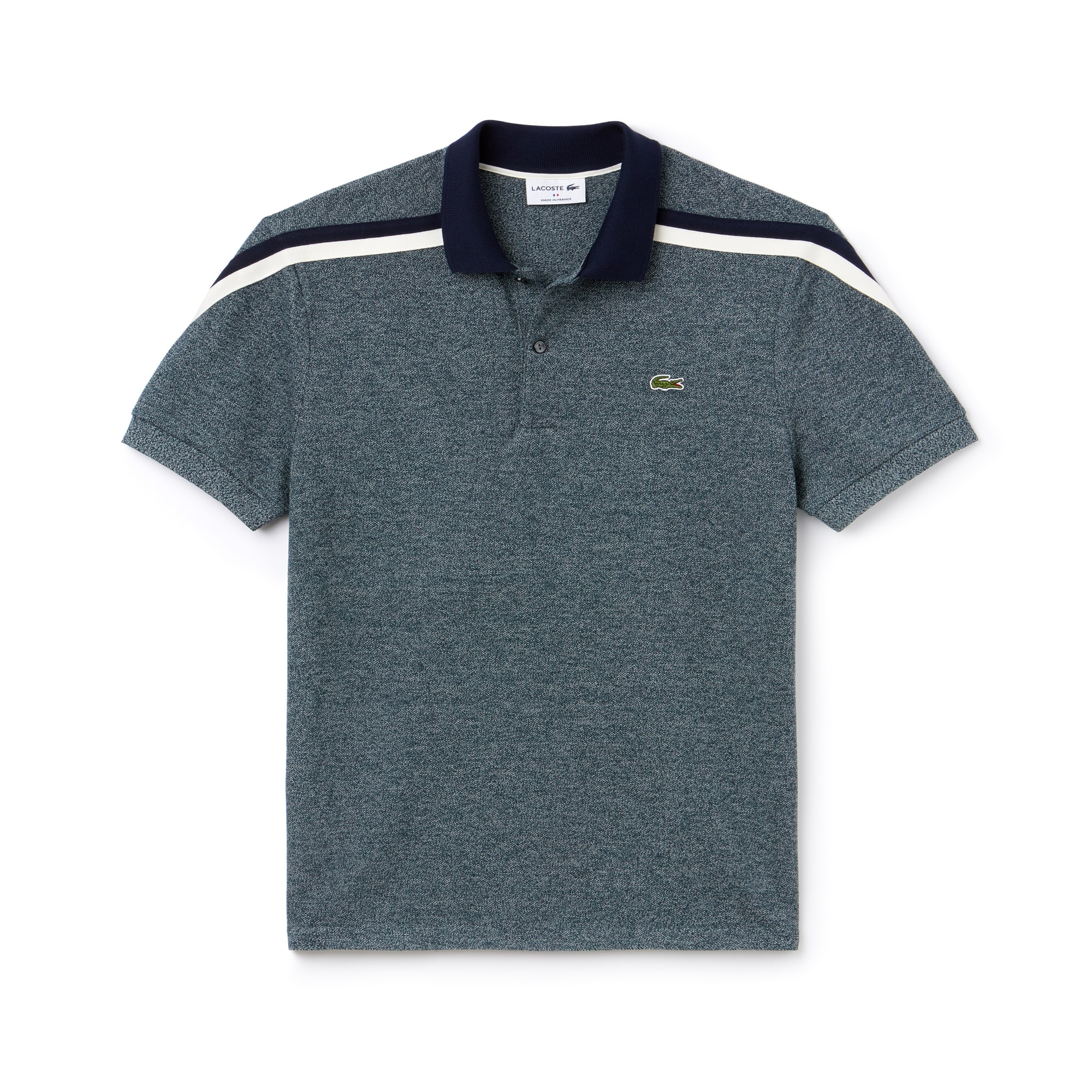 Lacoste - LACOSTE Made In France Regular Fit Herren-Poloshirt aus Baumwoll-Piqué - 3