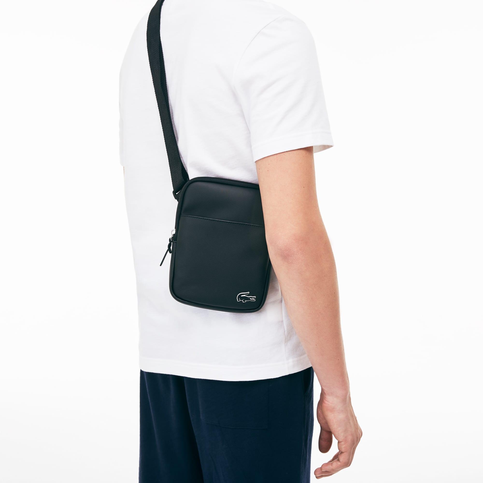Herren L.12.12 Concept Petit Piqué Flat Crossover Bag