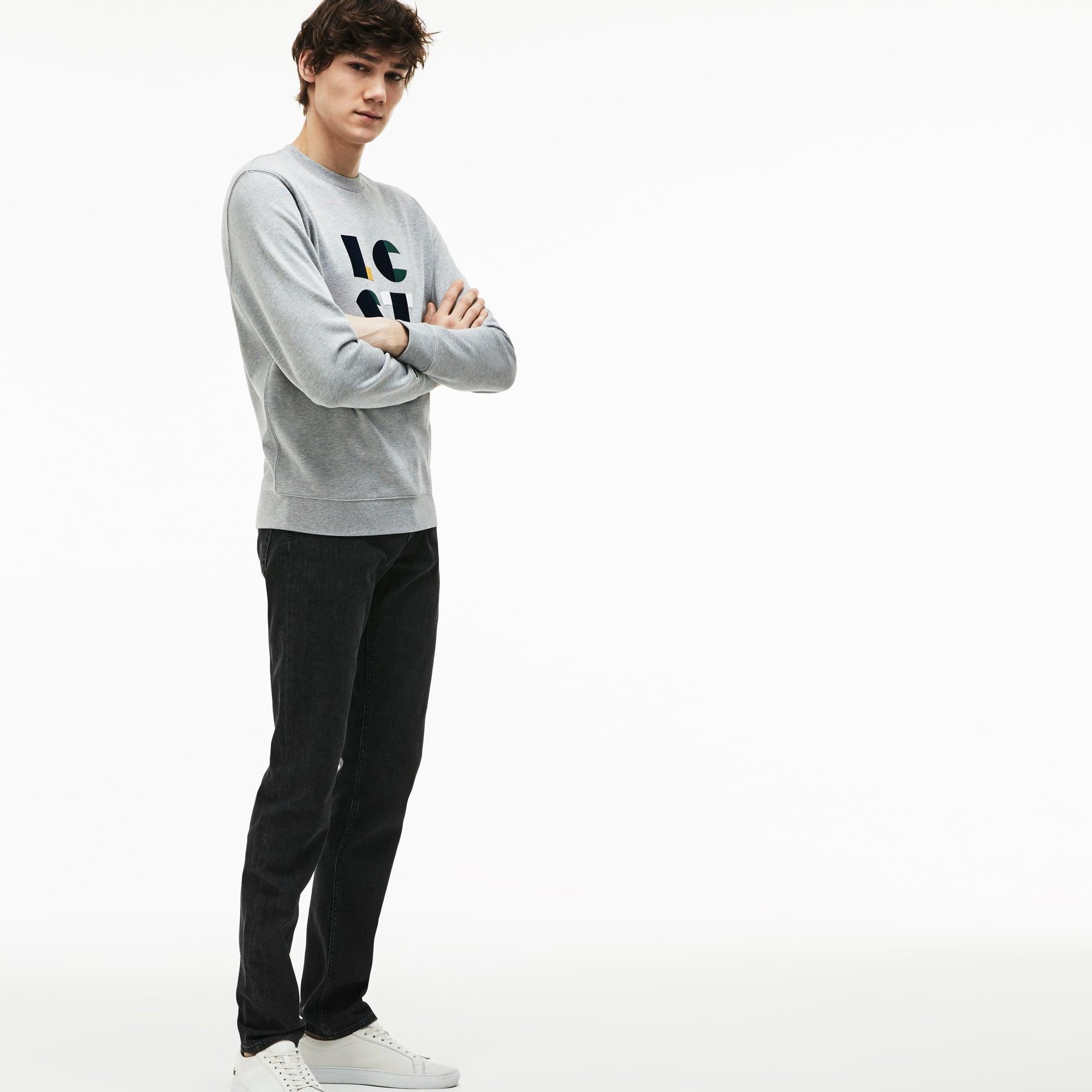 Lacoste - Slim Fit Herren-Jeans aus Stretch-Baumwolle mit fünf Taschen - 1