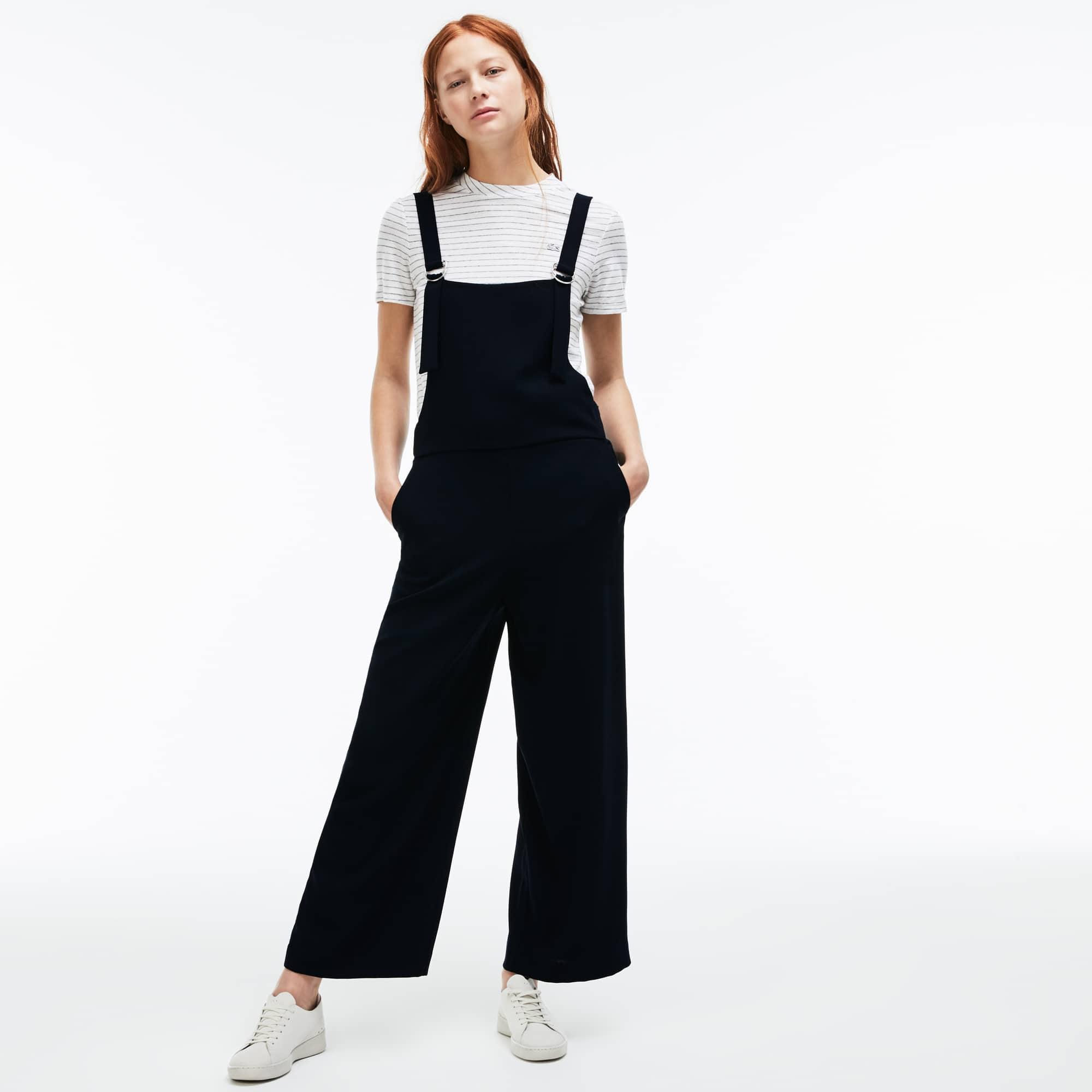 Damen-Overall aus Krepp LACOSTE L!VE