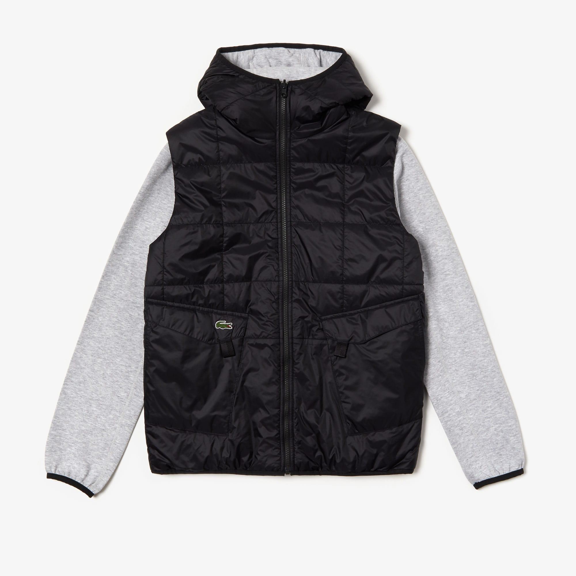 low priced 5312e 31df5 Herren LACOSTE SPORT zweifarbige wendbare Jacke