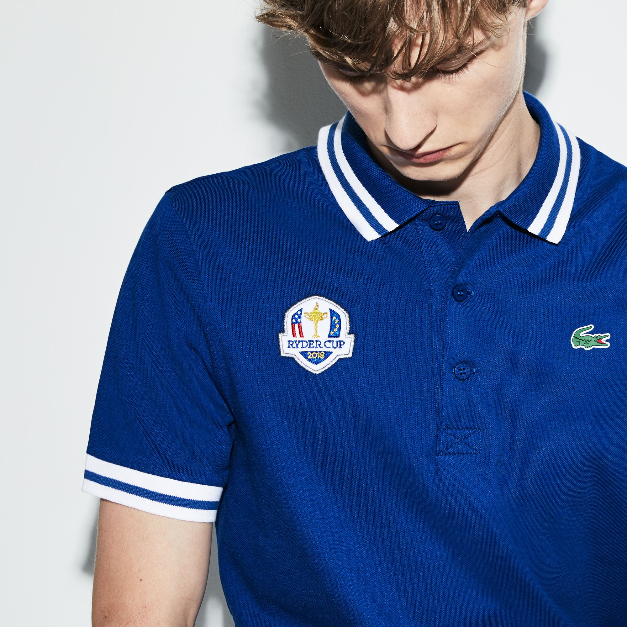 Lacoste - Herren LACOSTE SPORT Ryder Cup Edition Golf Poloshirt - 5