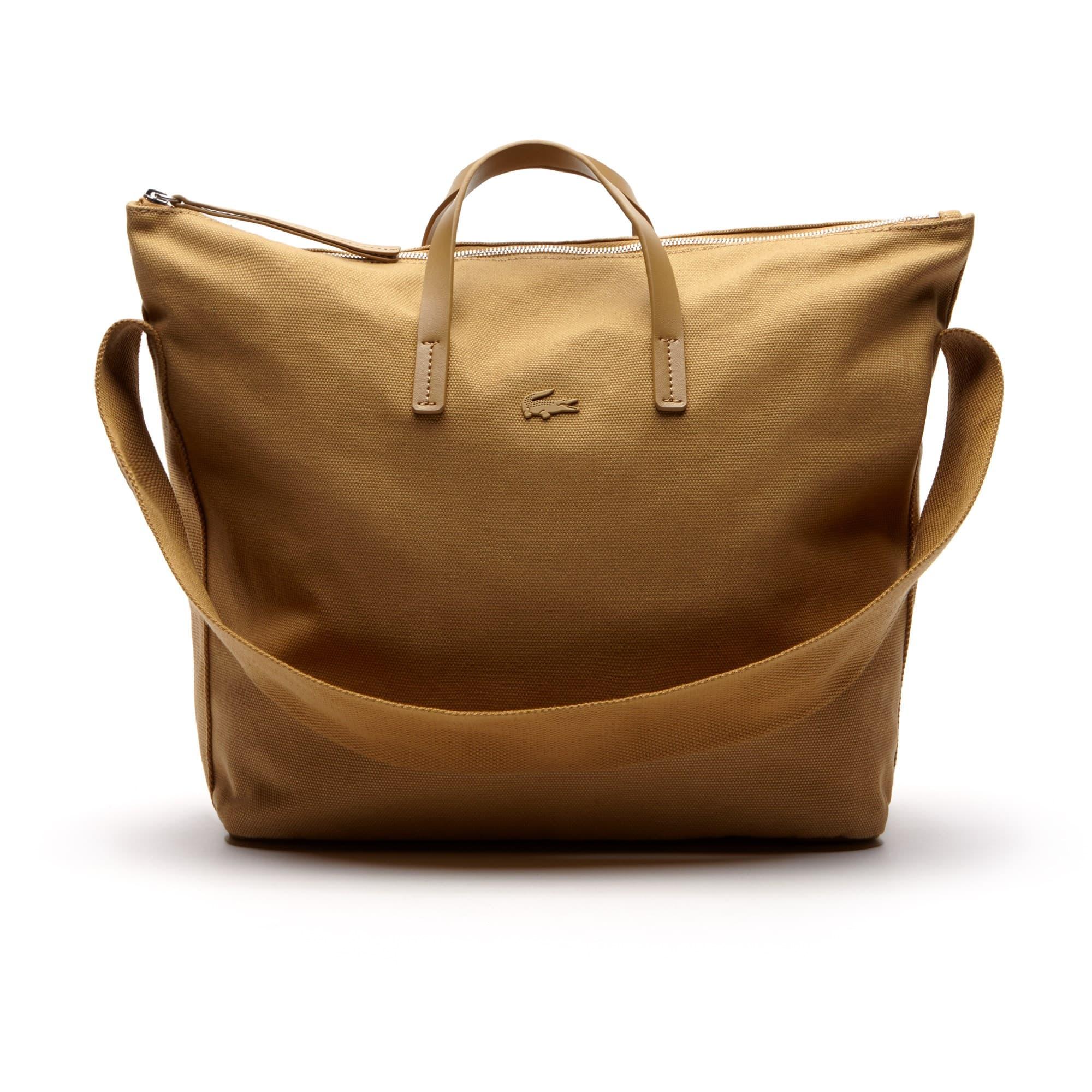 Einfarbige Damen Schultergurt-Tote Bag Suzie aus Baumwolle