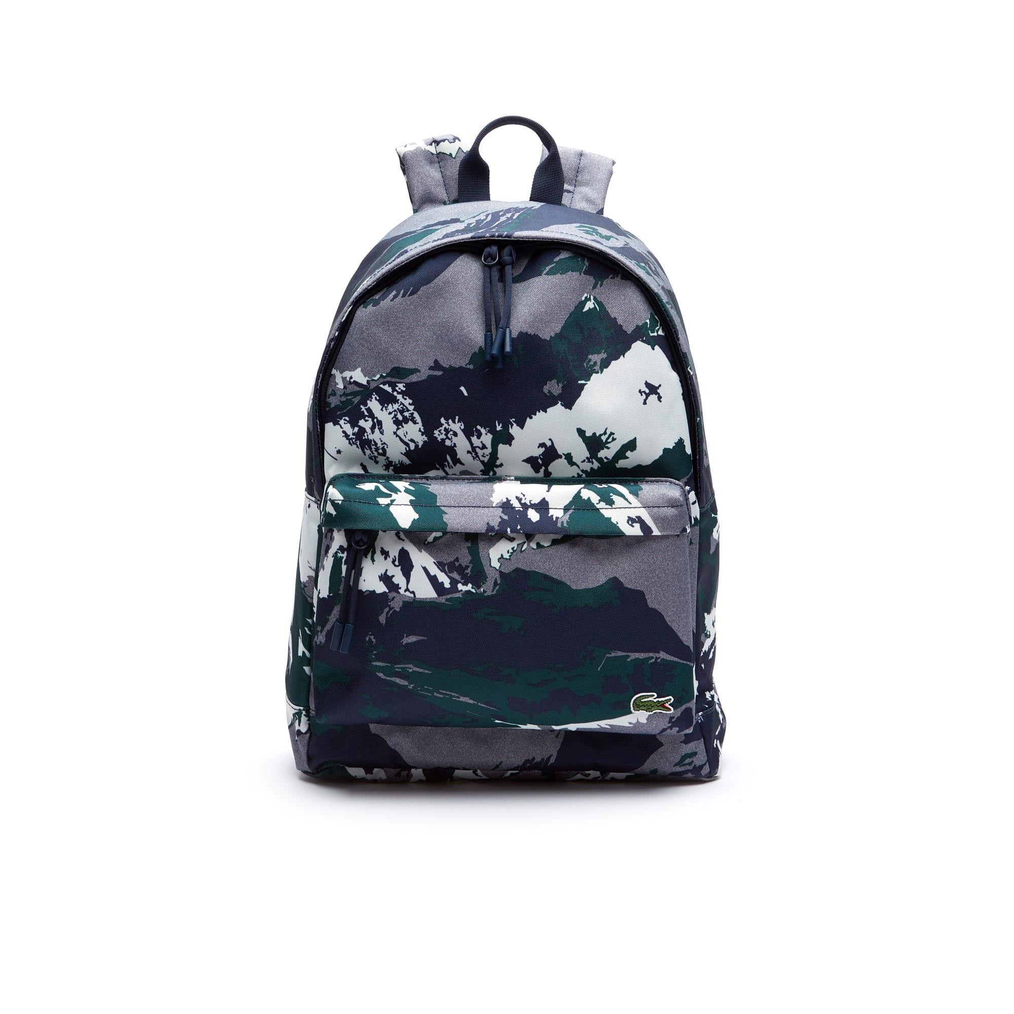 Lacoste - Herren NÉOCROC rucksack mit alpinem Print - 2