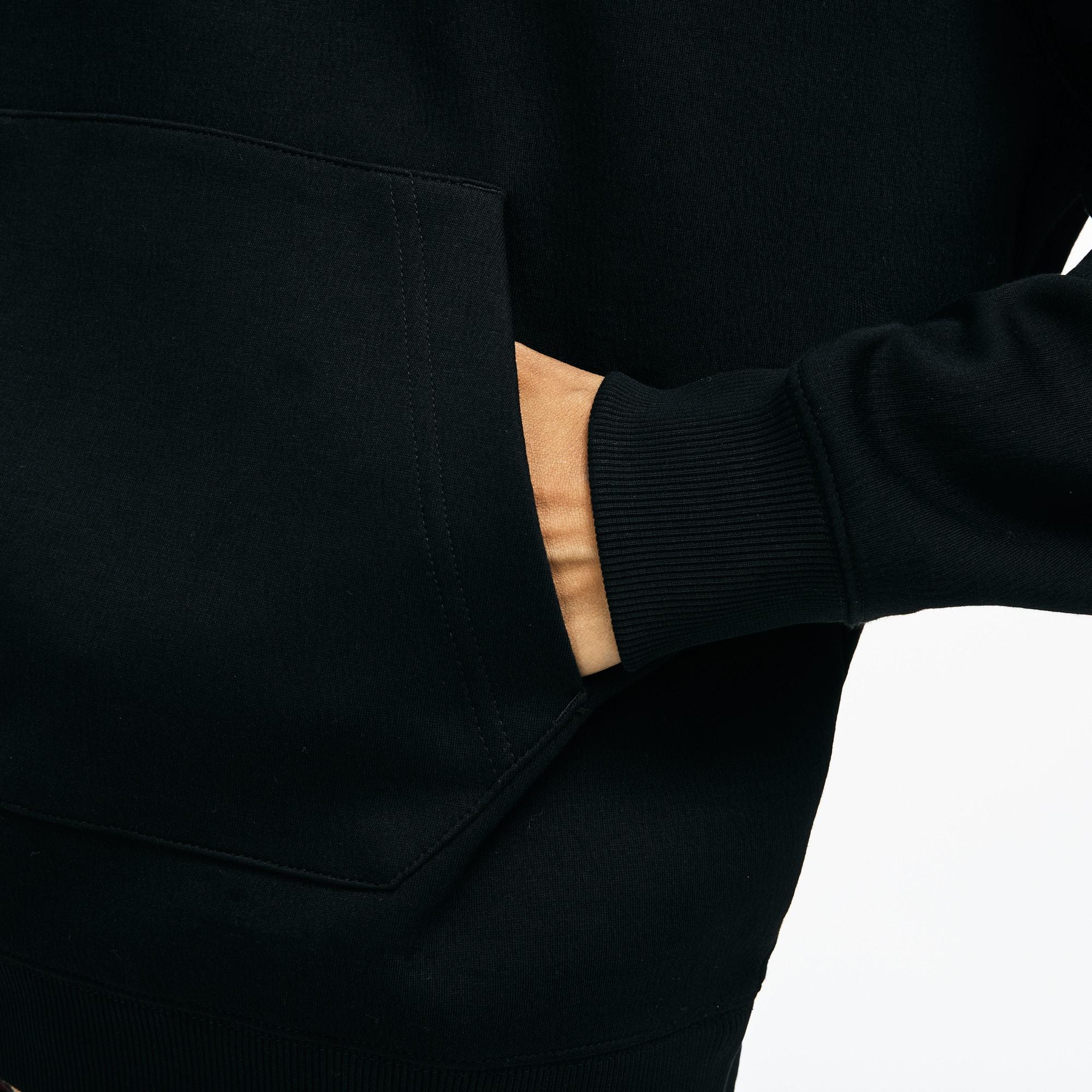 Lacoste - LACOSTE L!VE Rundhals-Sweatshirt mit Stickerei - 7
