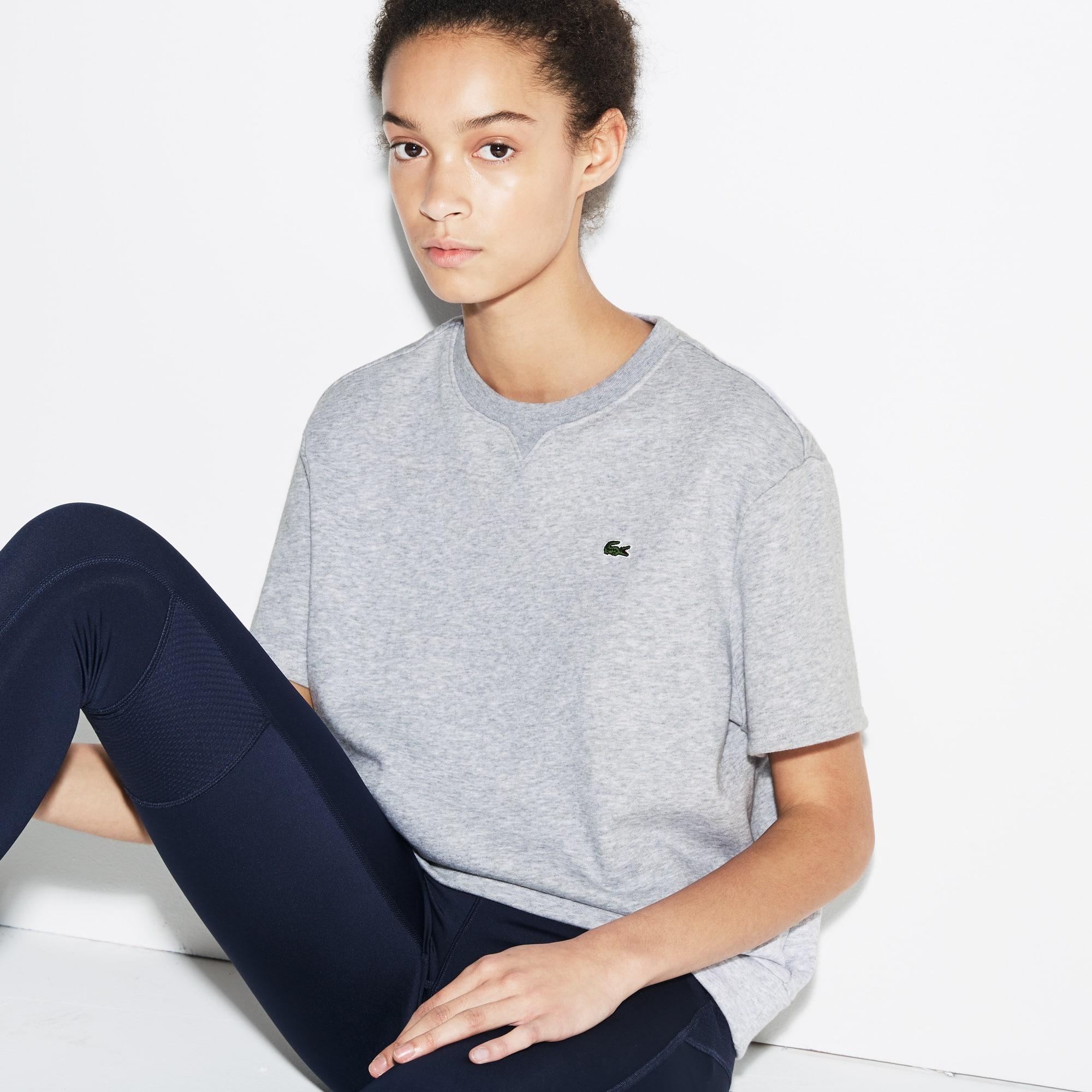 Damen LACOSTE SPORT Fleece Tennis-Sweatshirt