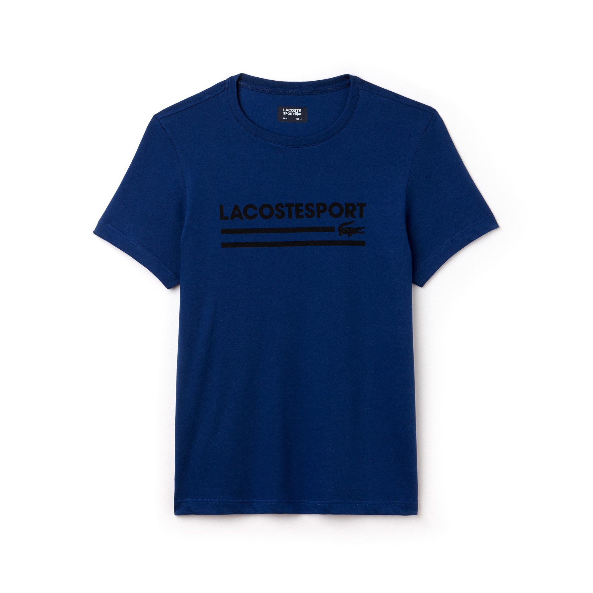 Herren LACOSTE Sport T-Shirt aus Funktionsjersey mit Schriftzug
